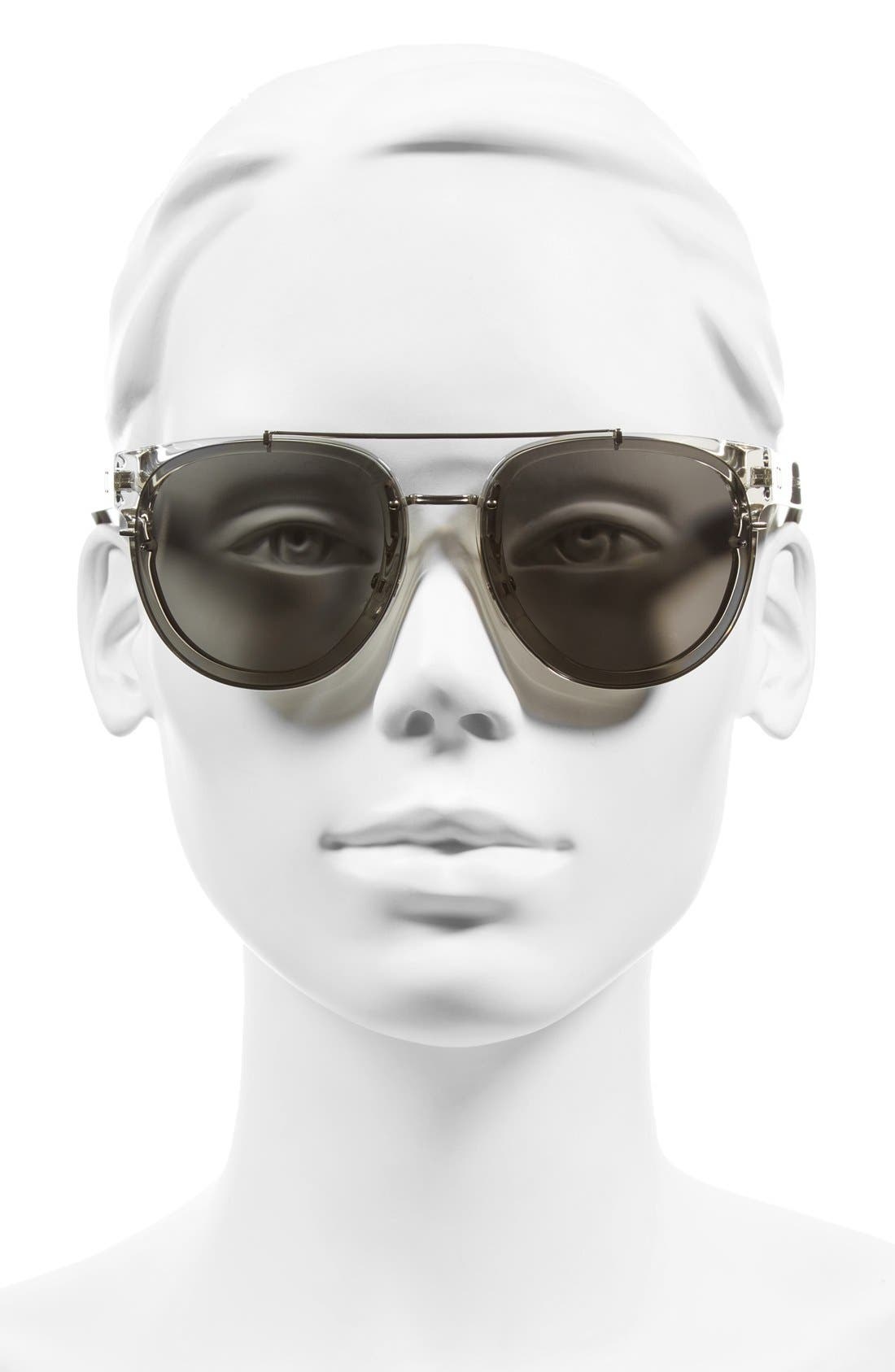 'Black Tie' 56mm Sunglasses,                             Alternate thumbnail 5, color,