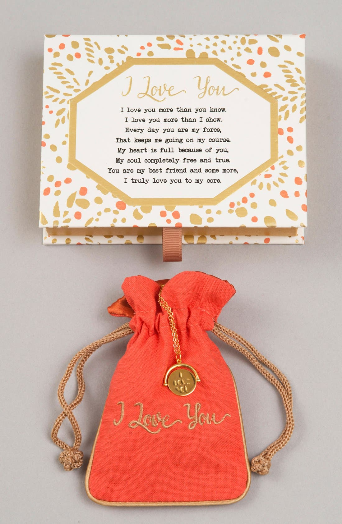 Love Love Code Charm Necklace,                             Alternate thumbnail 30, color,