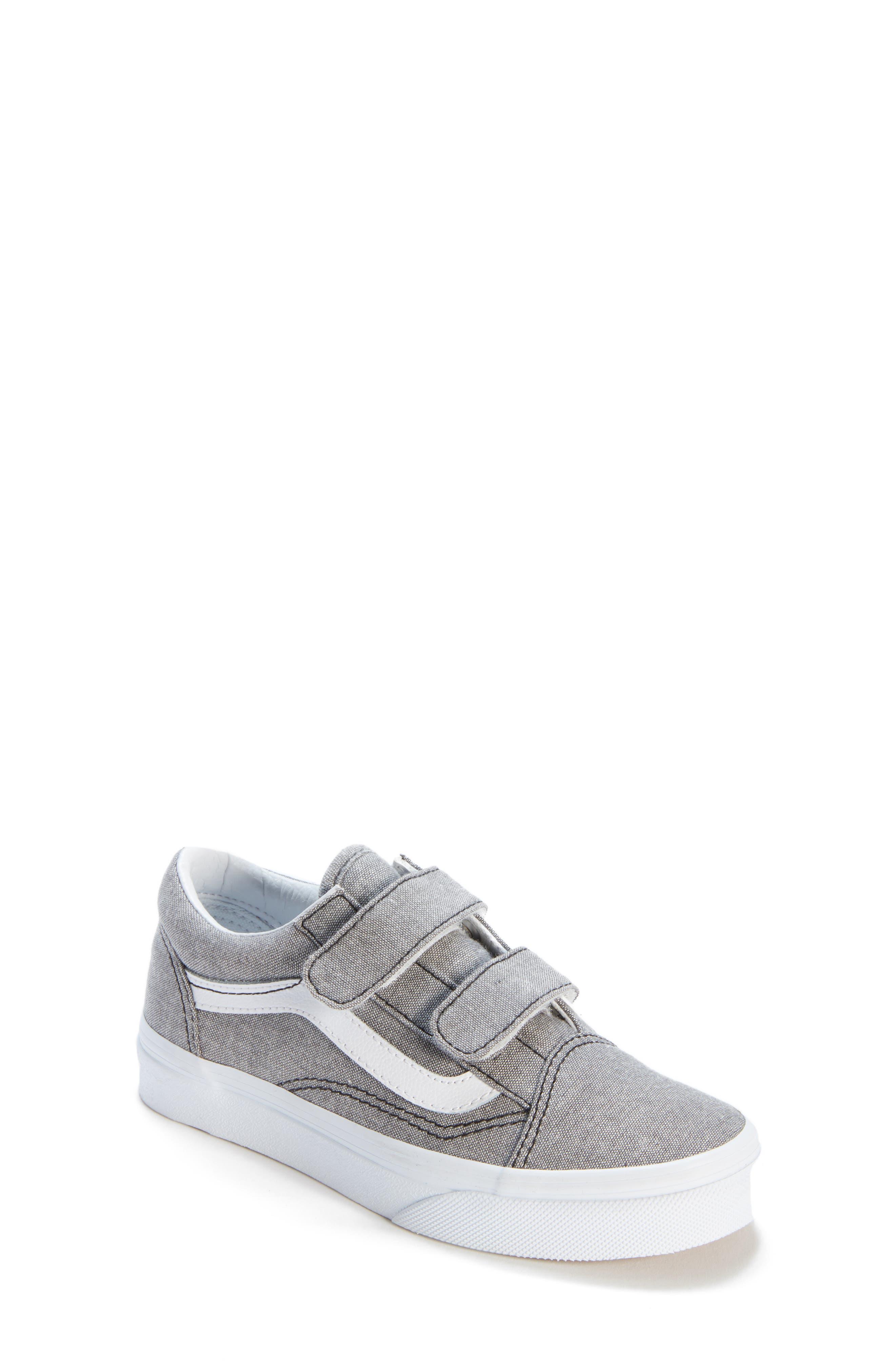 'Old Skool' Sneaker,                             Main thumbnail 1, color,                             OXFORD GRAY TRUE WHITE