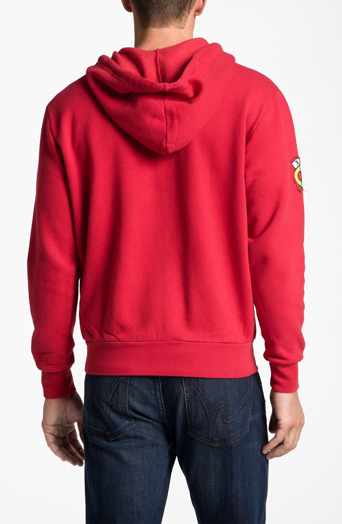 'Chicago Blackhawks' Hoodie,                             Alternate thumbnail 2, color,                             600