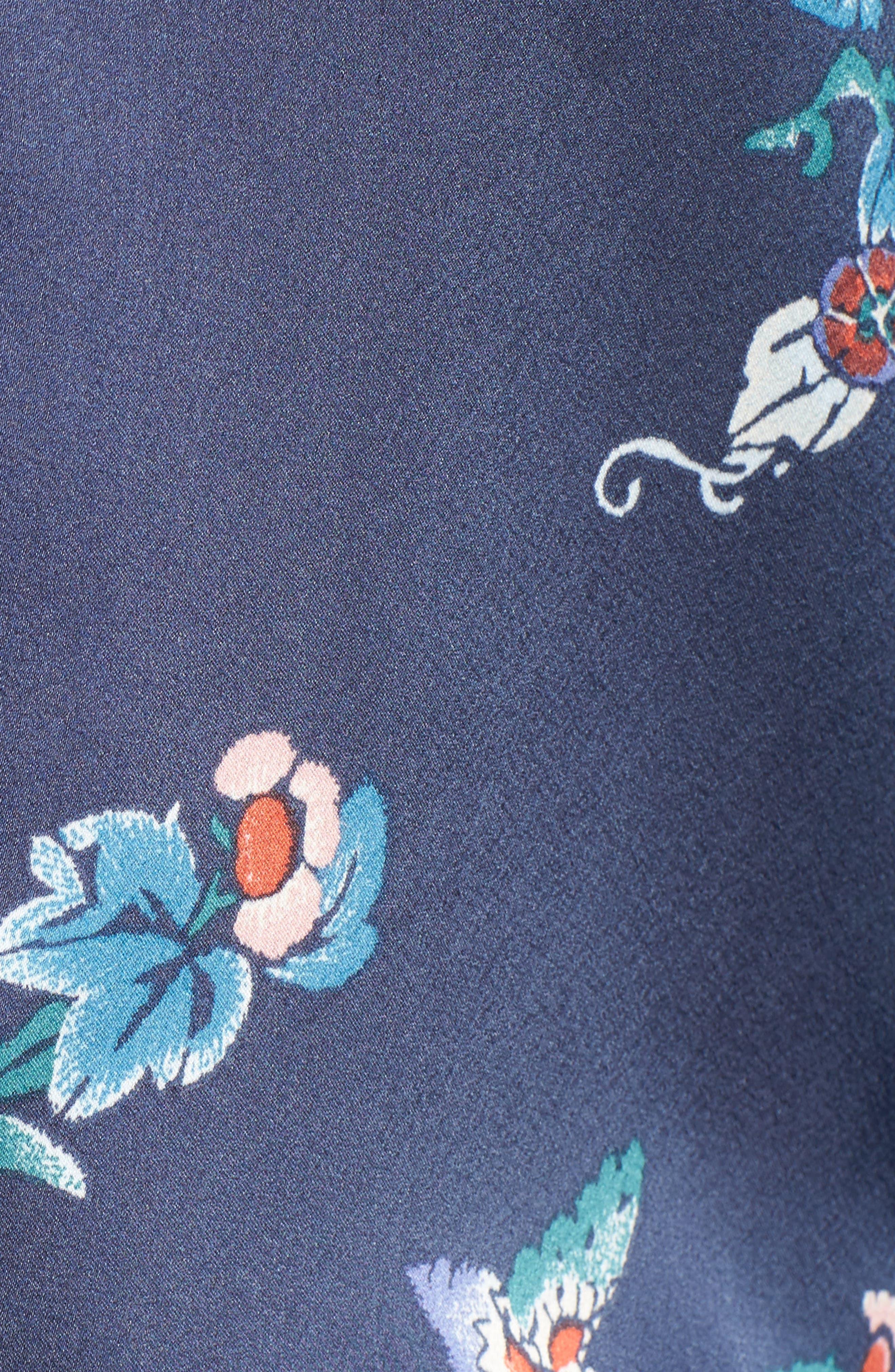 Papillon Print Short Pajamas,                             Alternate thumbnail 15, color,