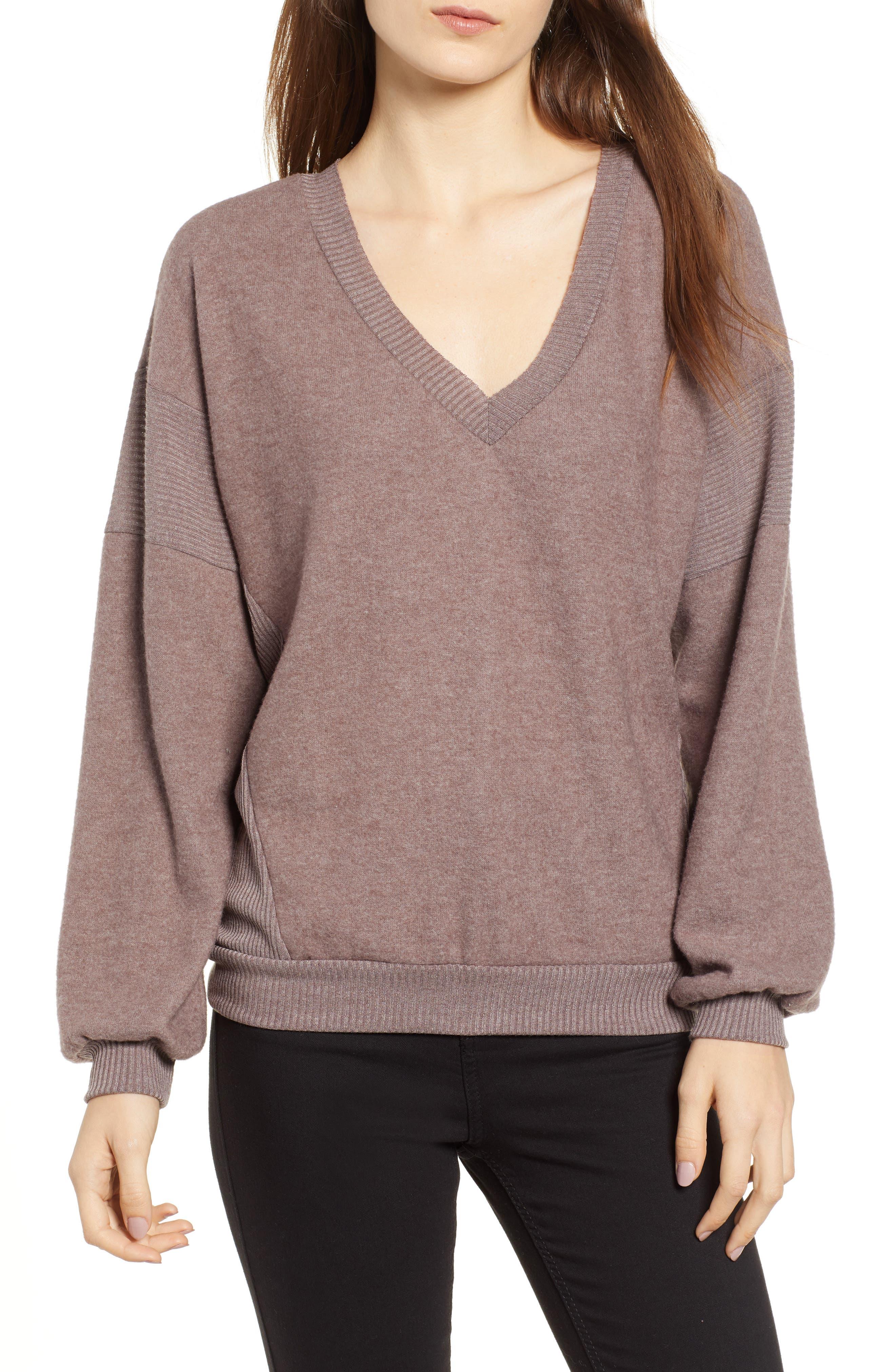 Alsen V-Neck Sweatshirt,                             Main thumbnail 1, color,                             250