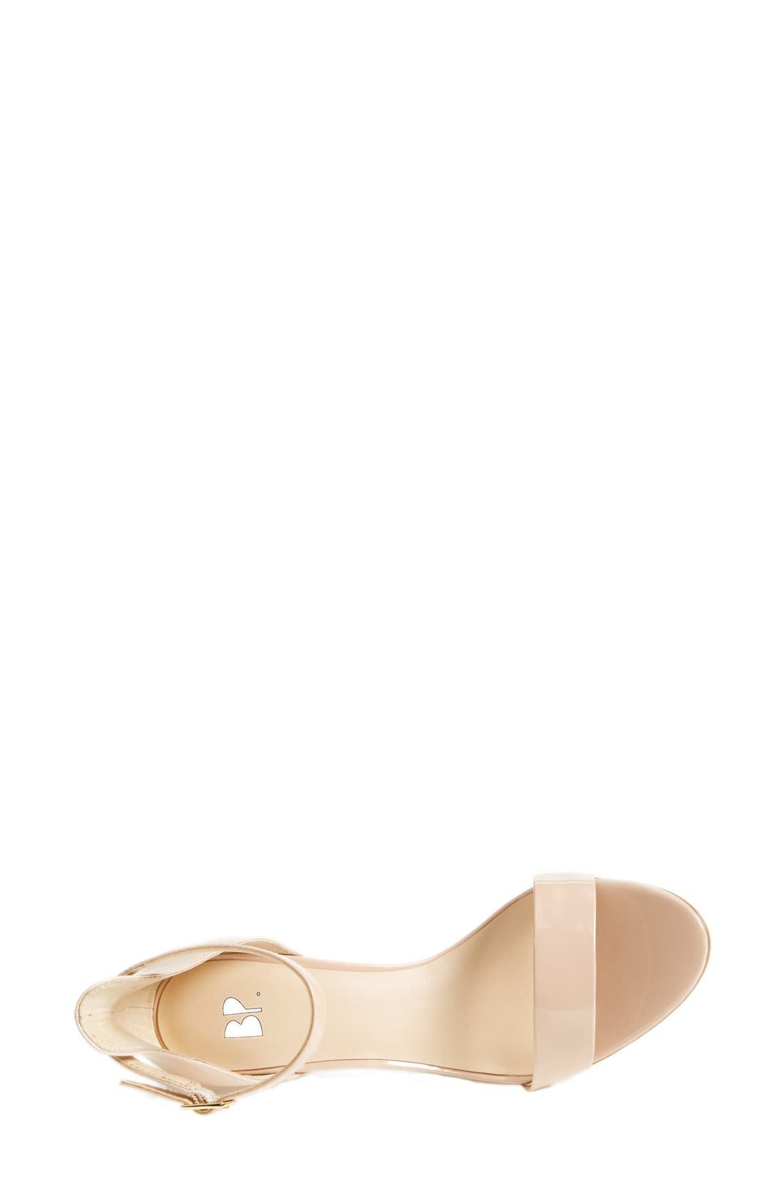 'Luminate' Open Toe Dress Sandal,                             Alternate thumbnail 170, color,