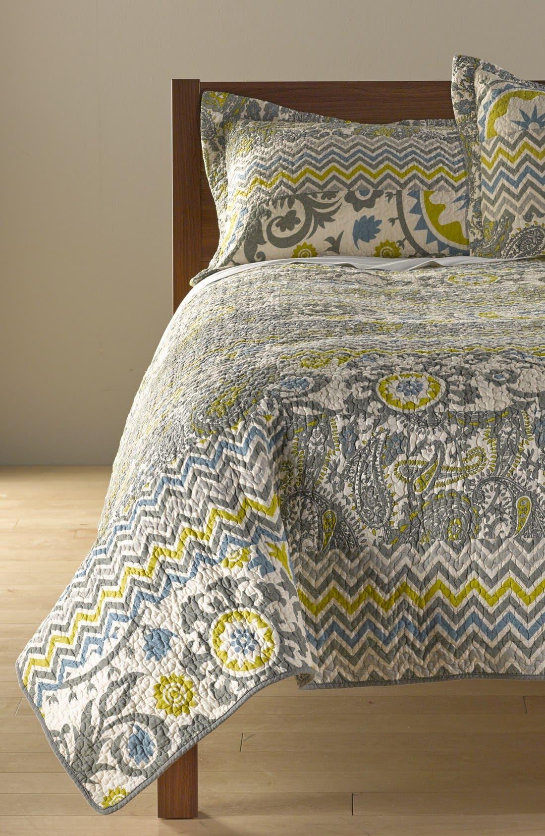 HEDAYA HOME FASHIONS,                             'Verano' Quilt,                             Main thumbnail 1, color,                             020