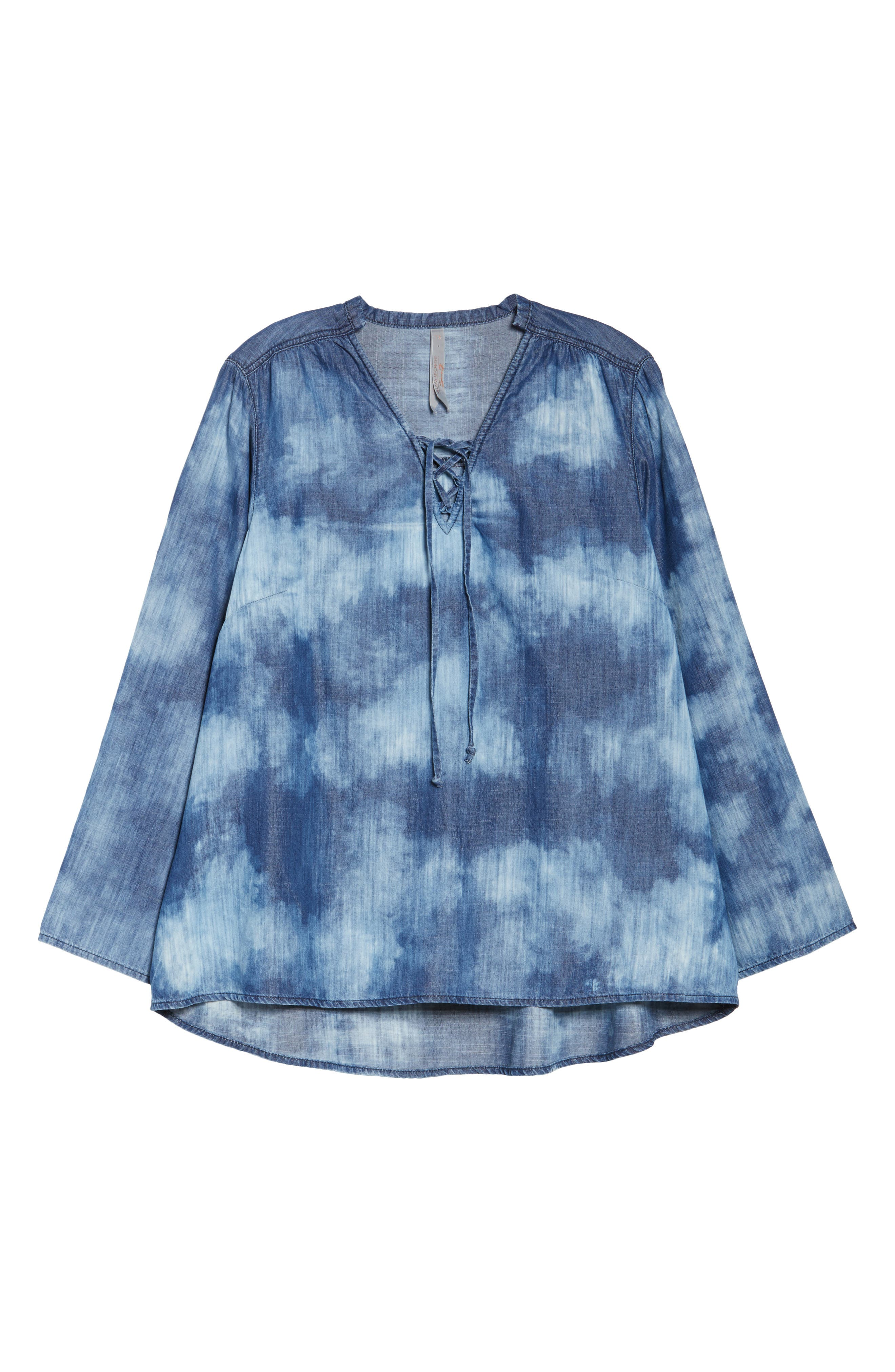 Bell Sleeve Top,                             Alternate thumbnail 6, color,                             422