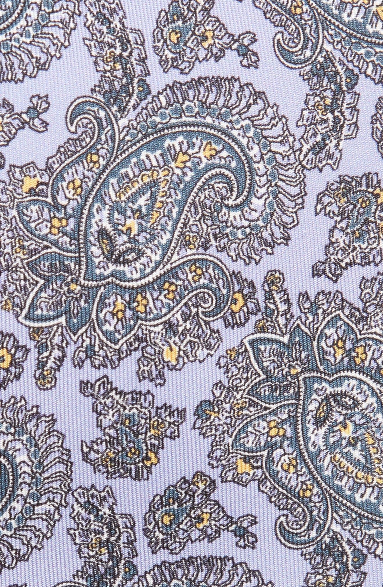 Paisley Silk Tie,                             Alternate thumbnail 2, color,                             502