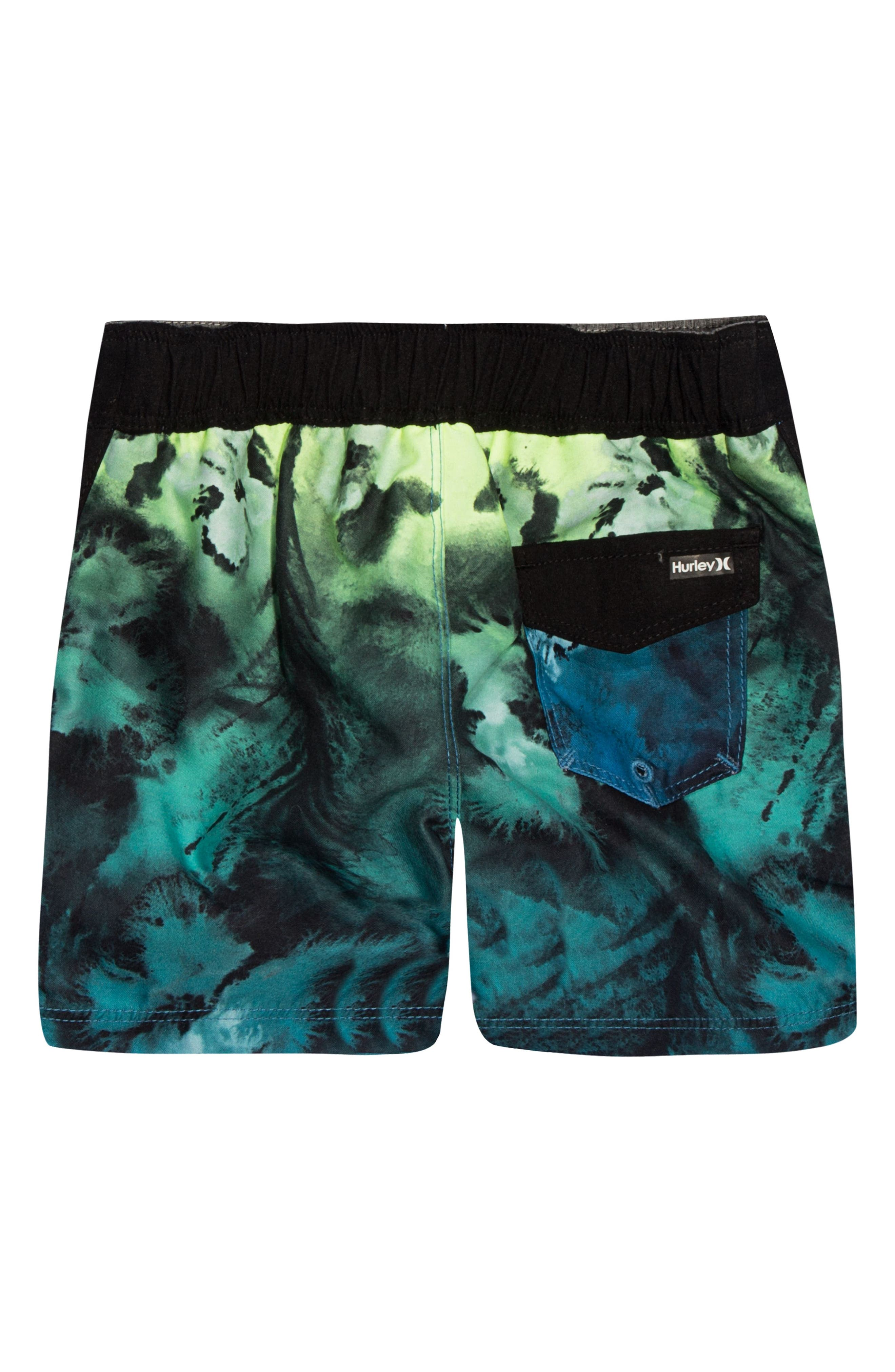 Print Board Shorts,                             Alternate thumbnail 2, color,                             435