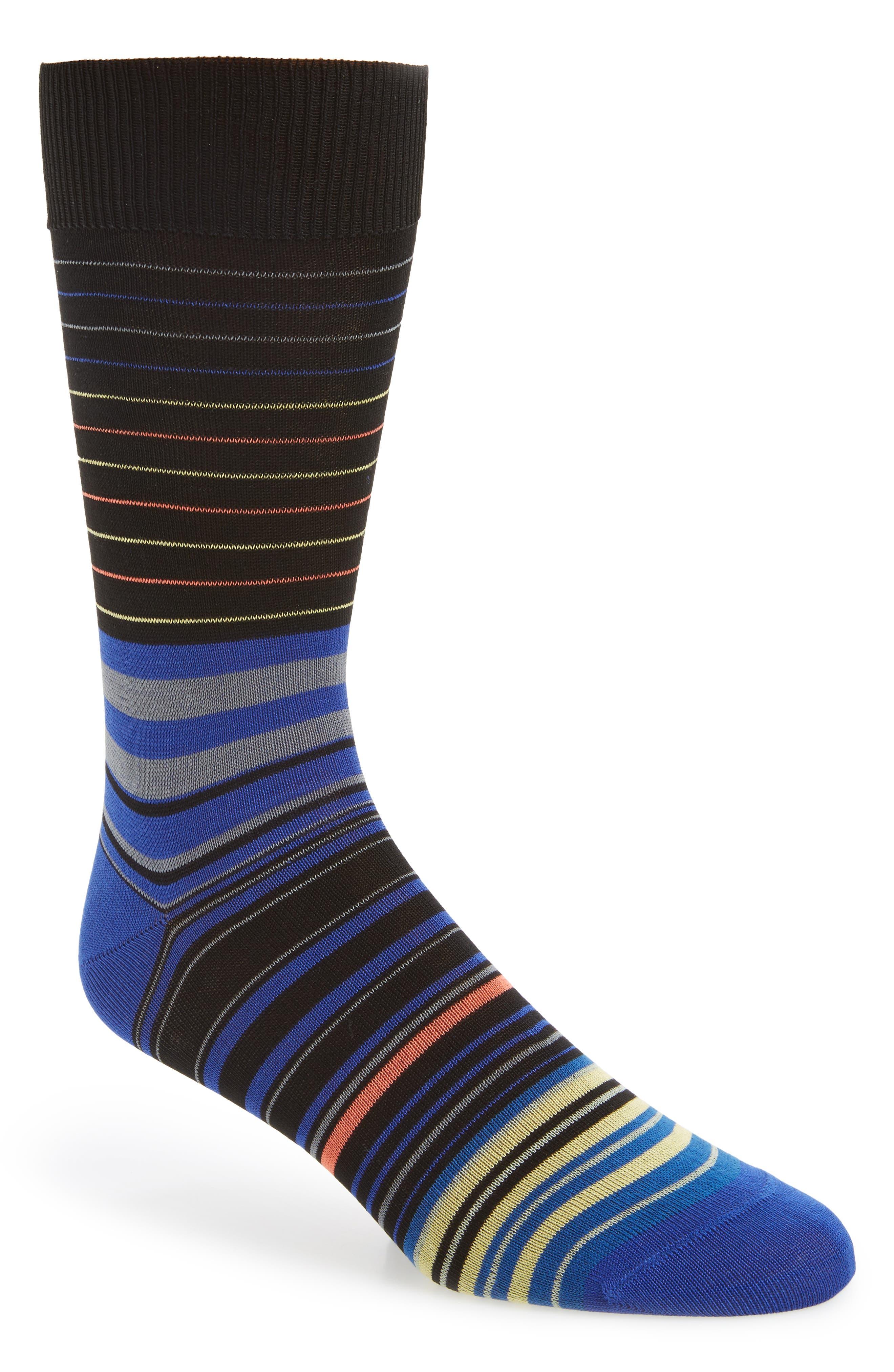 Piggle Stripe Socks,                         Main,                         color, 415