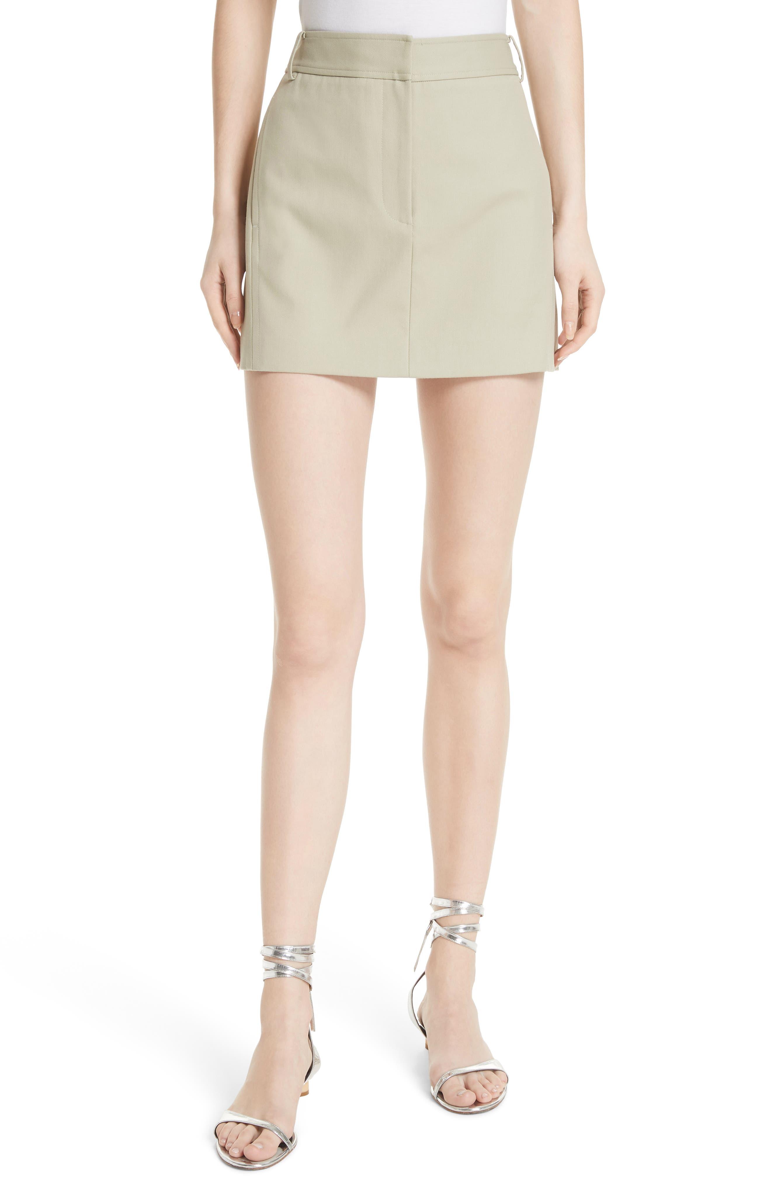 TIBI Margaux Miniskirt, Main, color, 310