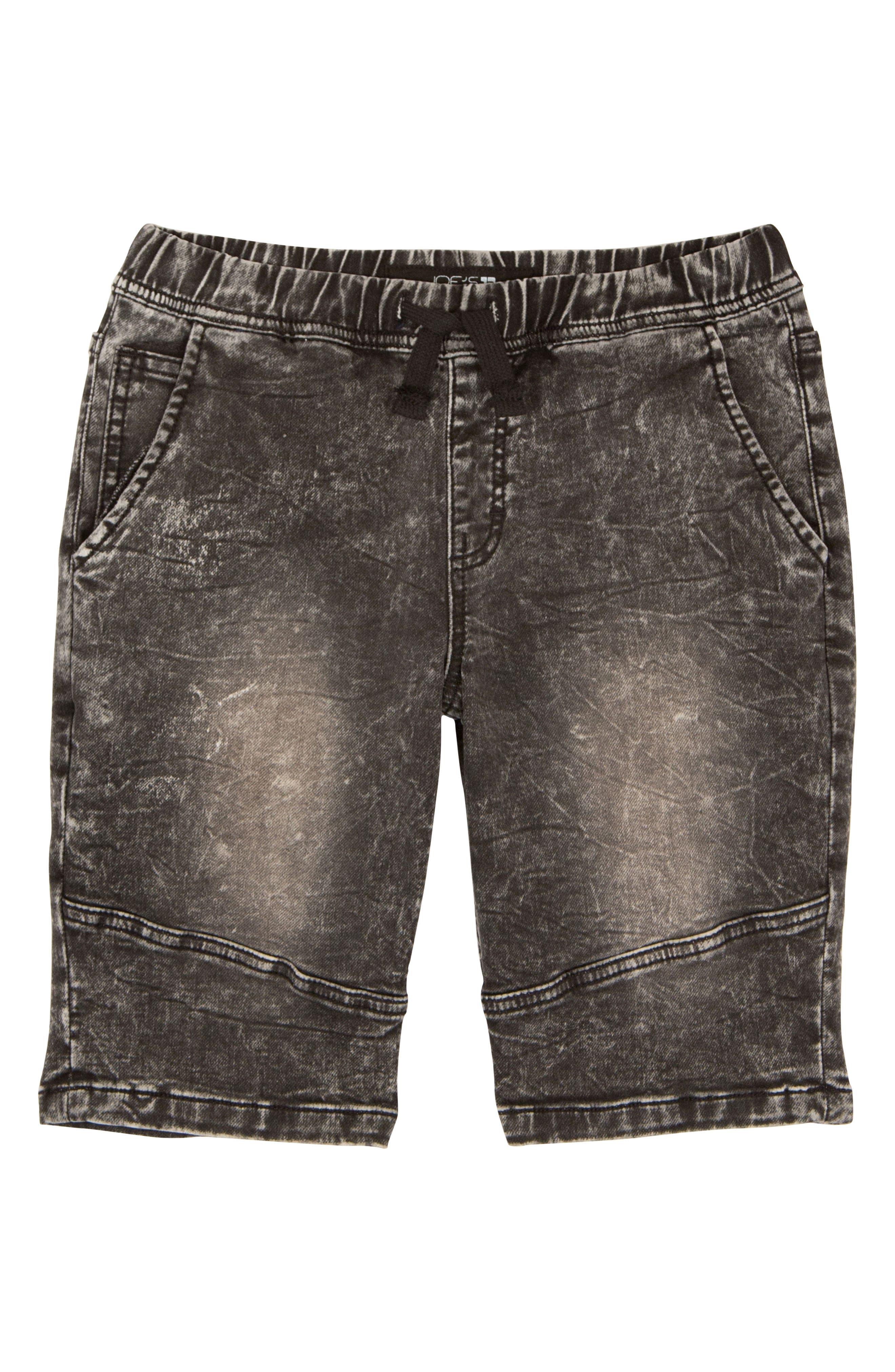 The Jogger Stretch Denim Shorts,                             Main thumbnail 1, color,                             015