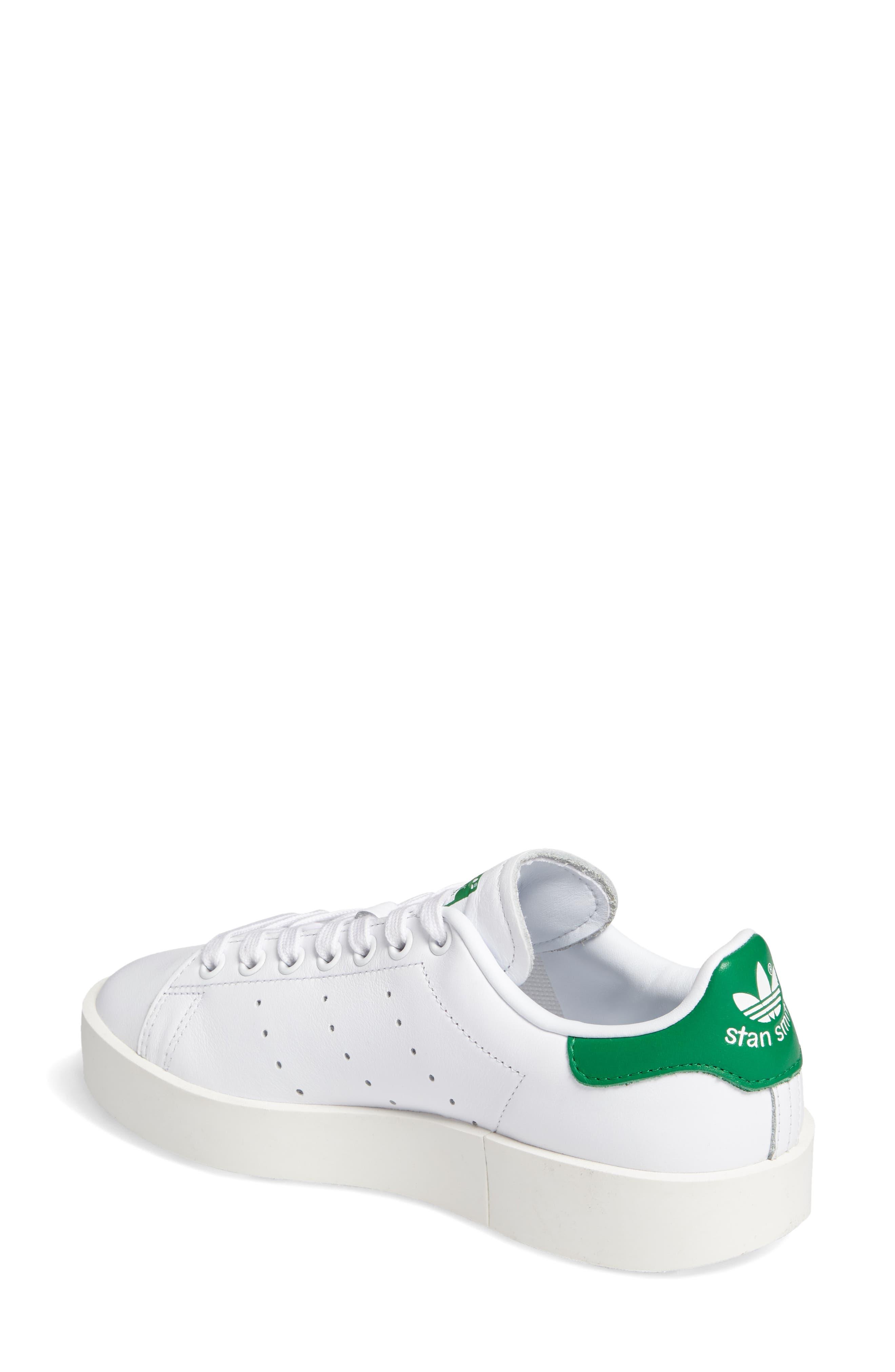 Stan Smith Bold Platform Sneaker,                             Alternate thumbnail 2, color,                             100