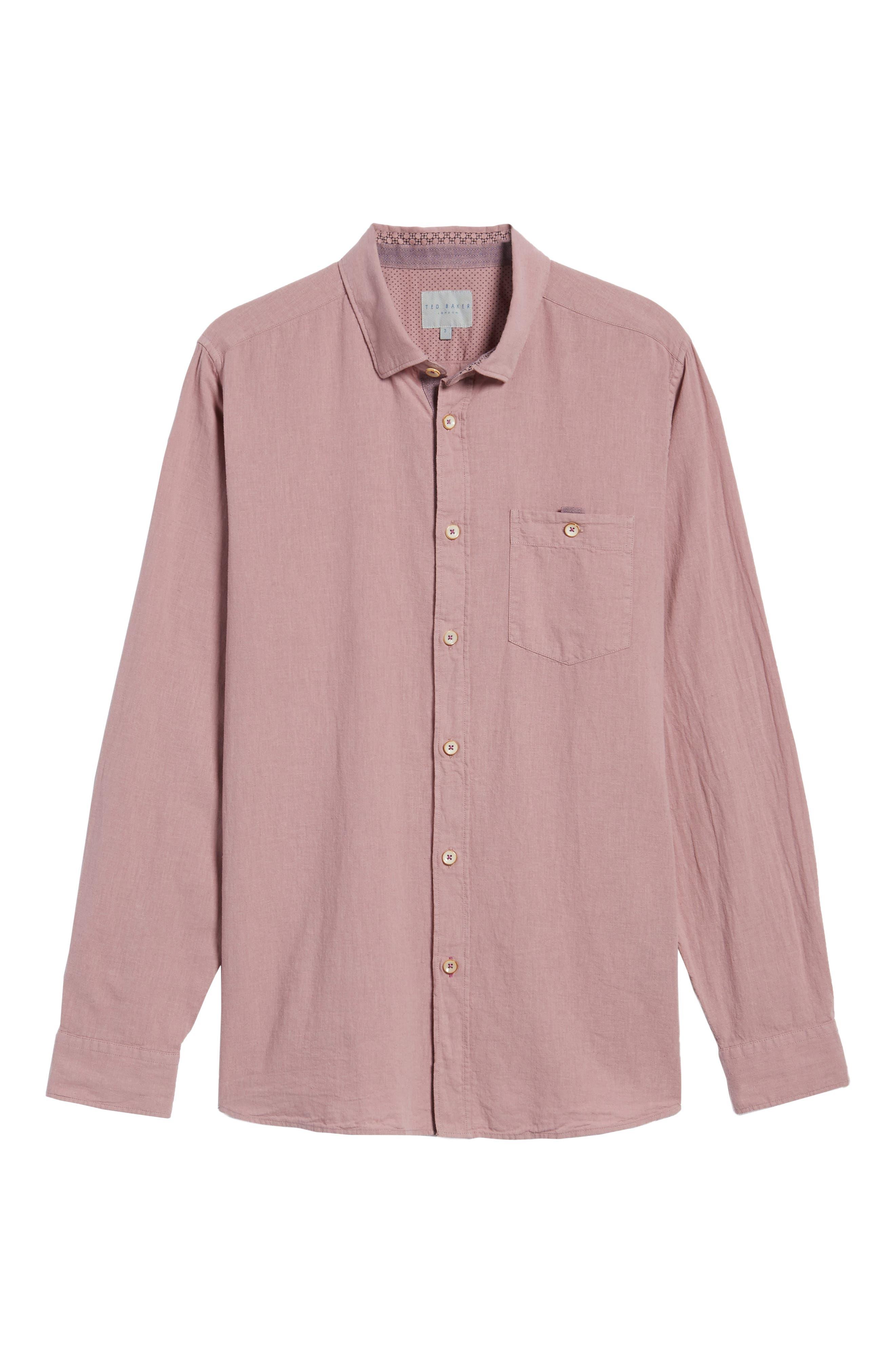 Carwash Modern Slim Fit Sport Shirt,                             Alternate thumbnail 18, color,