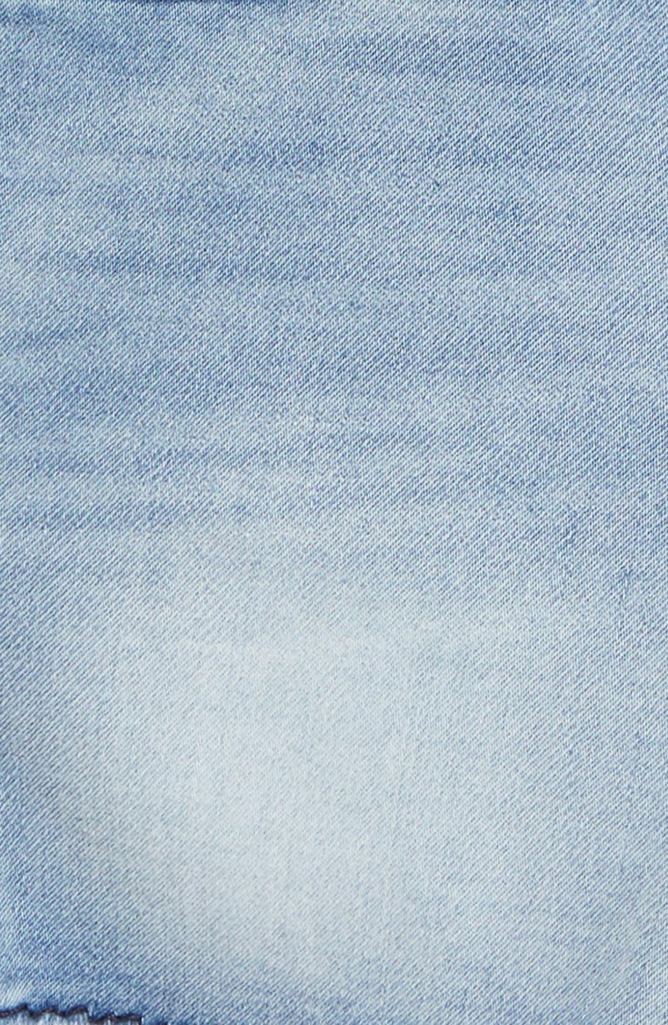 True Religion Geno Denim Shorts,                             Alternate thumbnail 3, color,                             462