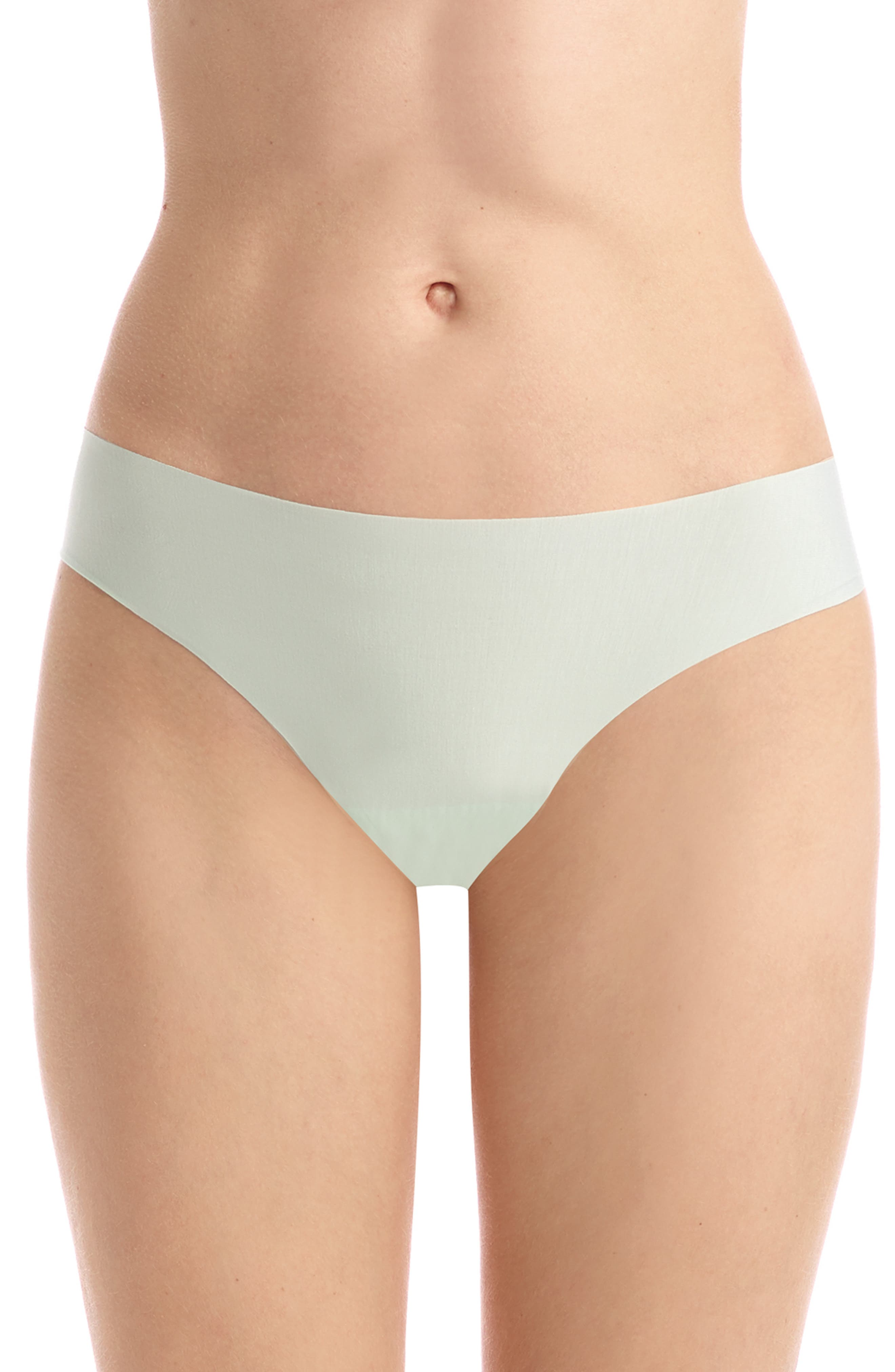 COMMANDO 'Butter' Stretch Modal Thong, Main, color, MINT