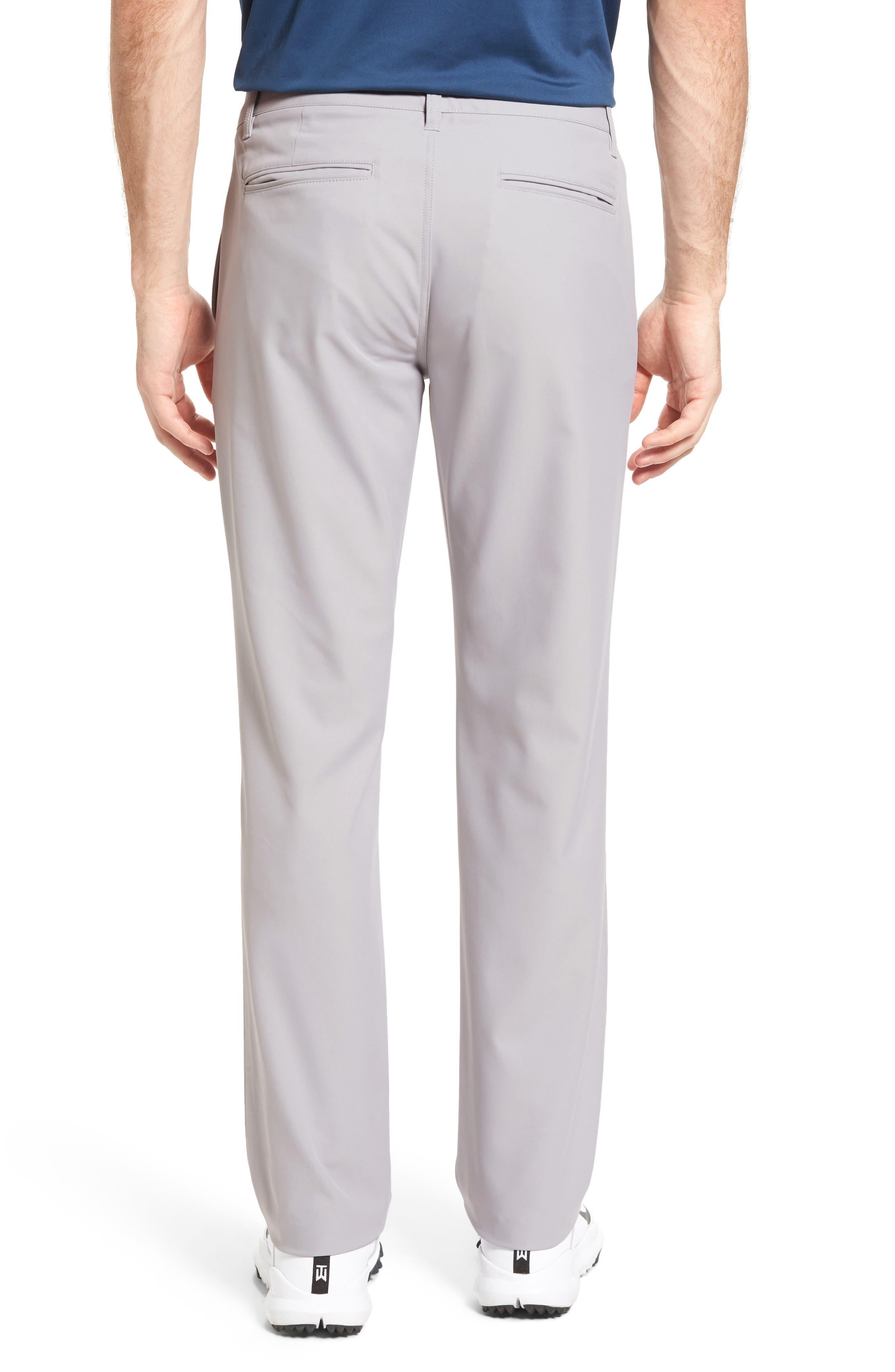 Highland Slim Fit Golf Pants,                             Alternate thumbnail 2, color,                             LIGHT GREY