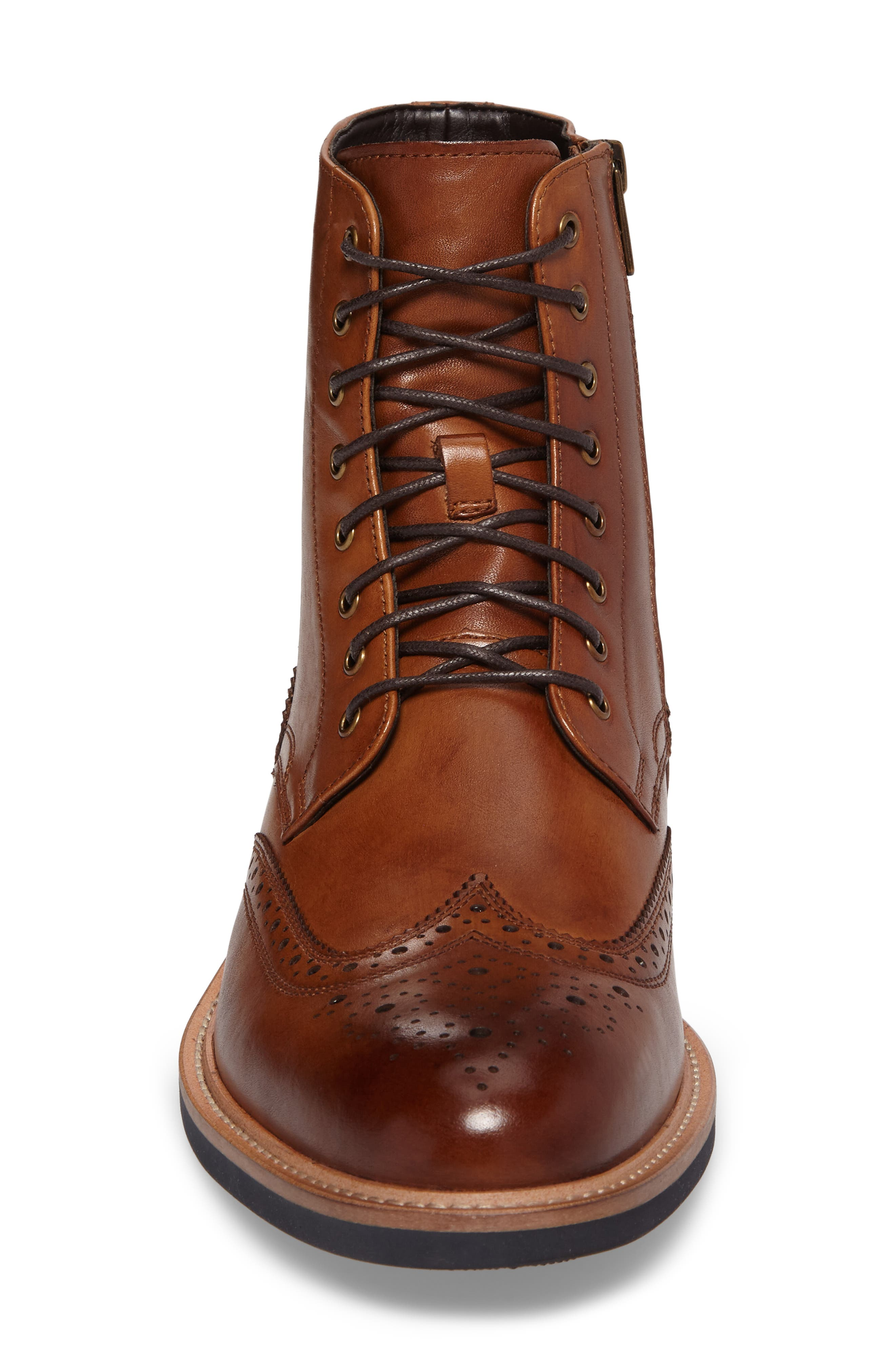 Kenneth Cole Reaction Wingtip Boot,                             Alternate thumbnail 4, color,