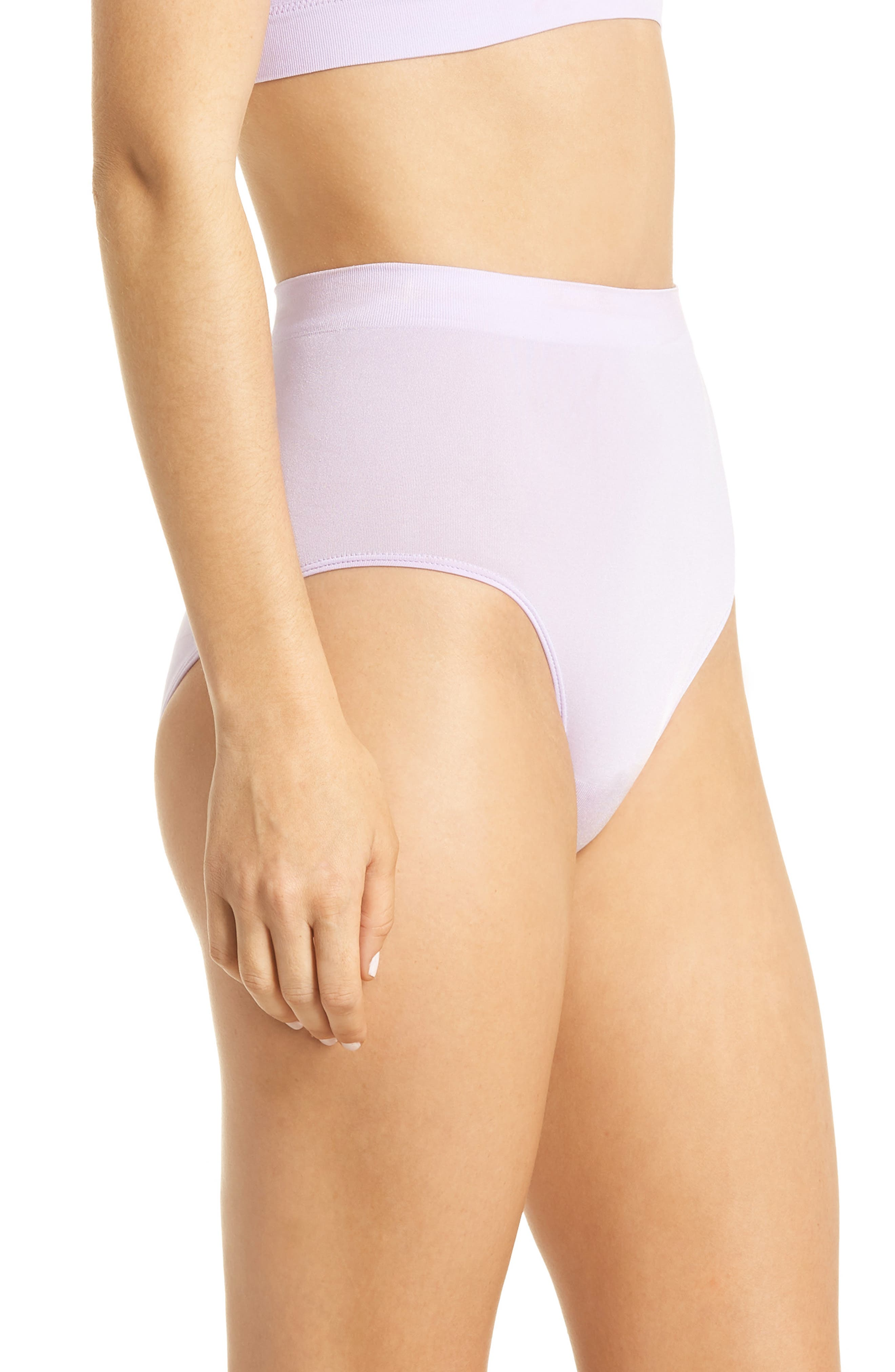 B Smooth Briefs,                             Alternate thumbnail 3, color,                             PASTEL LILAC