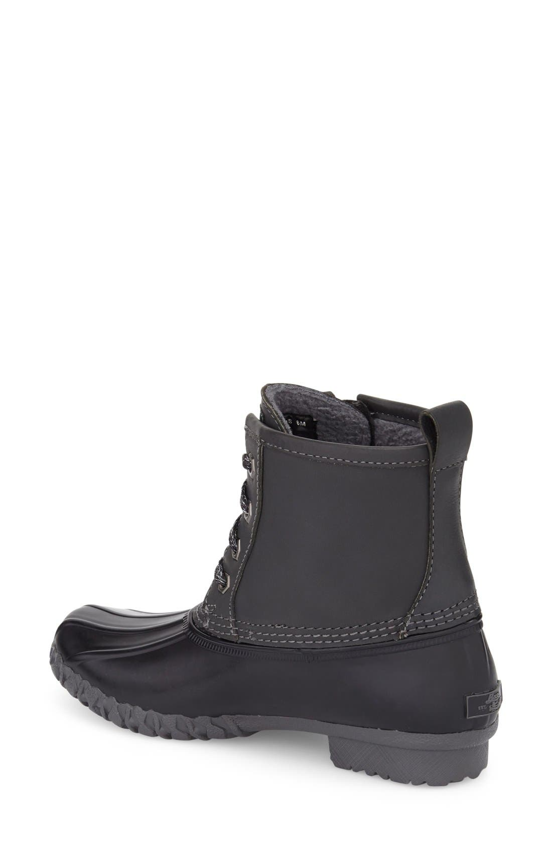 Danielle Waterproof Duck Boot,                             Alternate thumbnail 2, color,                             020