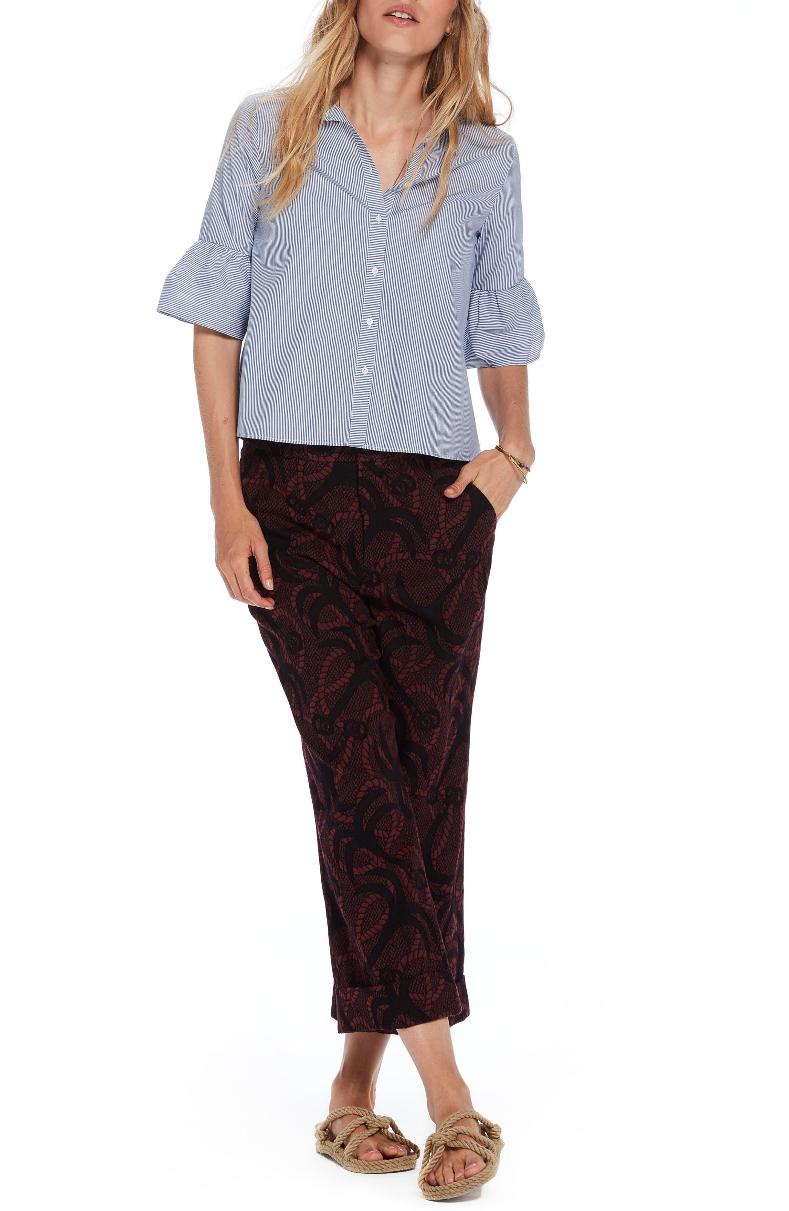 Bell Sleeve Shirt,                             Main thumbnail 1, color,
