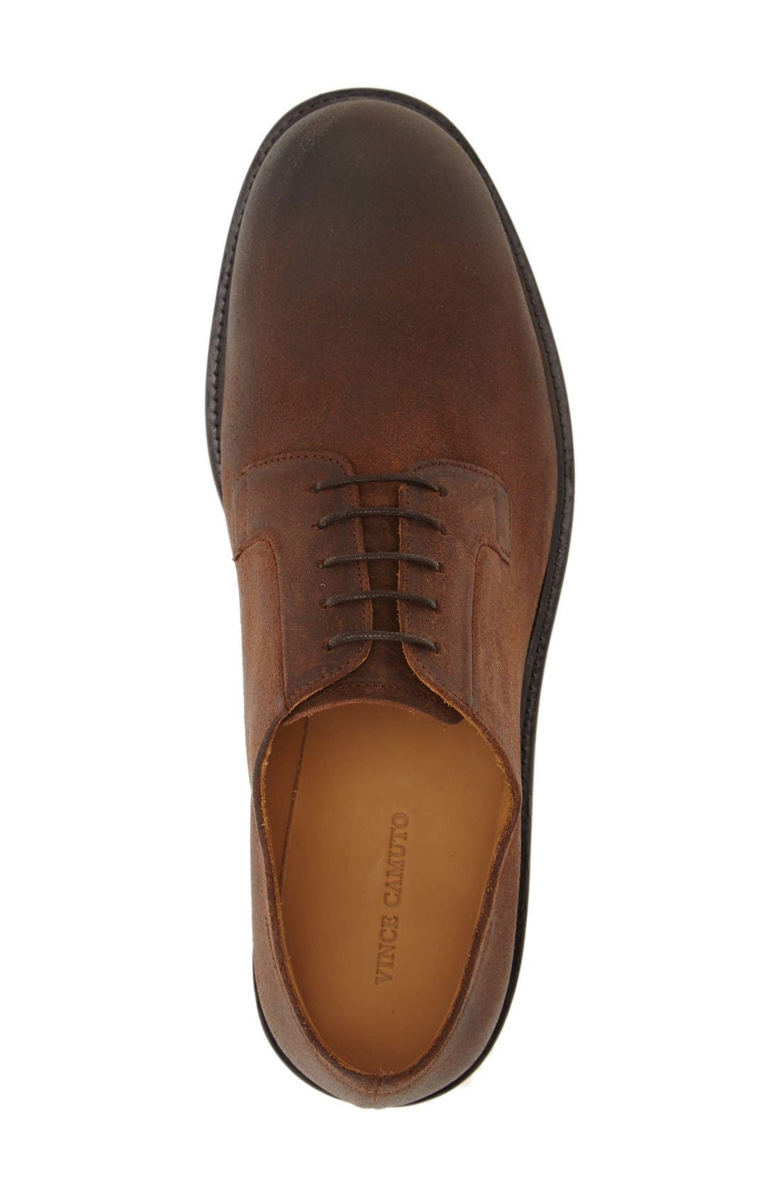 'Samtin' Plain Toe Blucher,                             Alternate thumbnail 6, color,