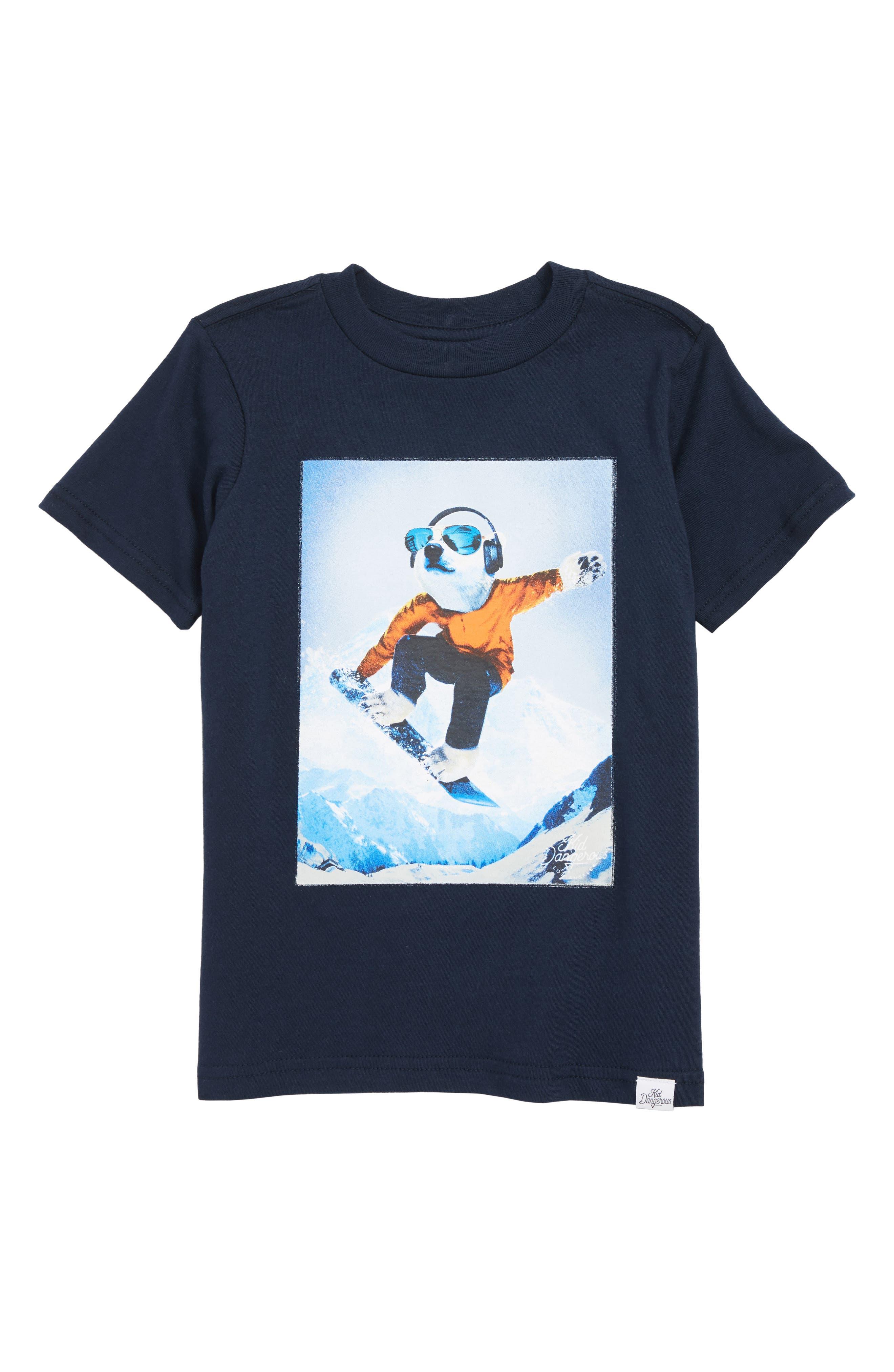 Boys Kid Dangerous Polar Shredder TShirt