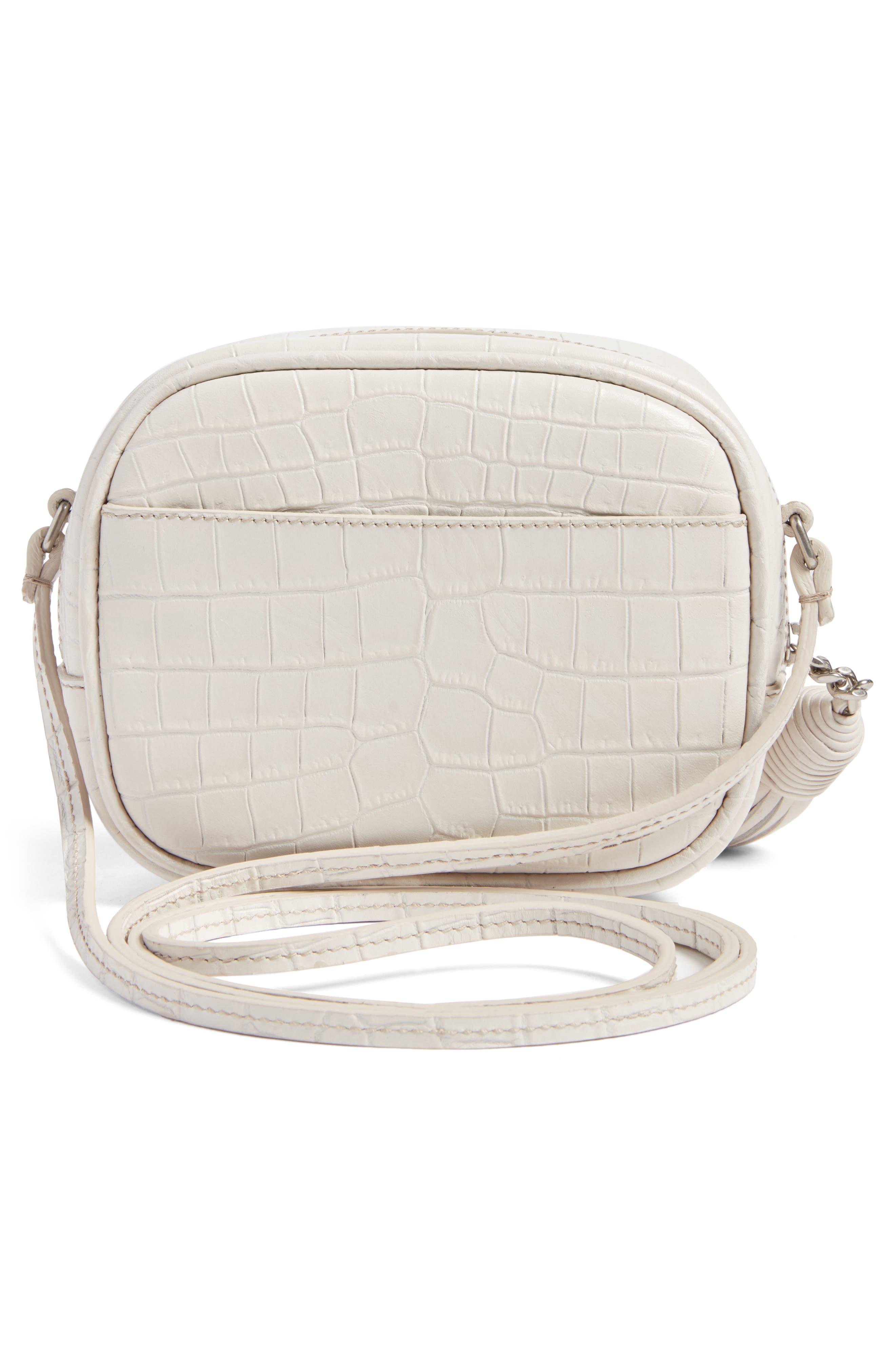 Monogram Blogger Leather Crossbody Bag,                             Alternate thumbnail 3, color,