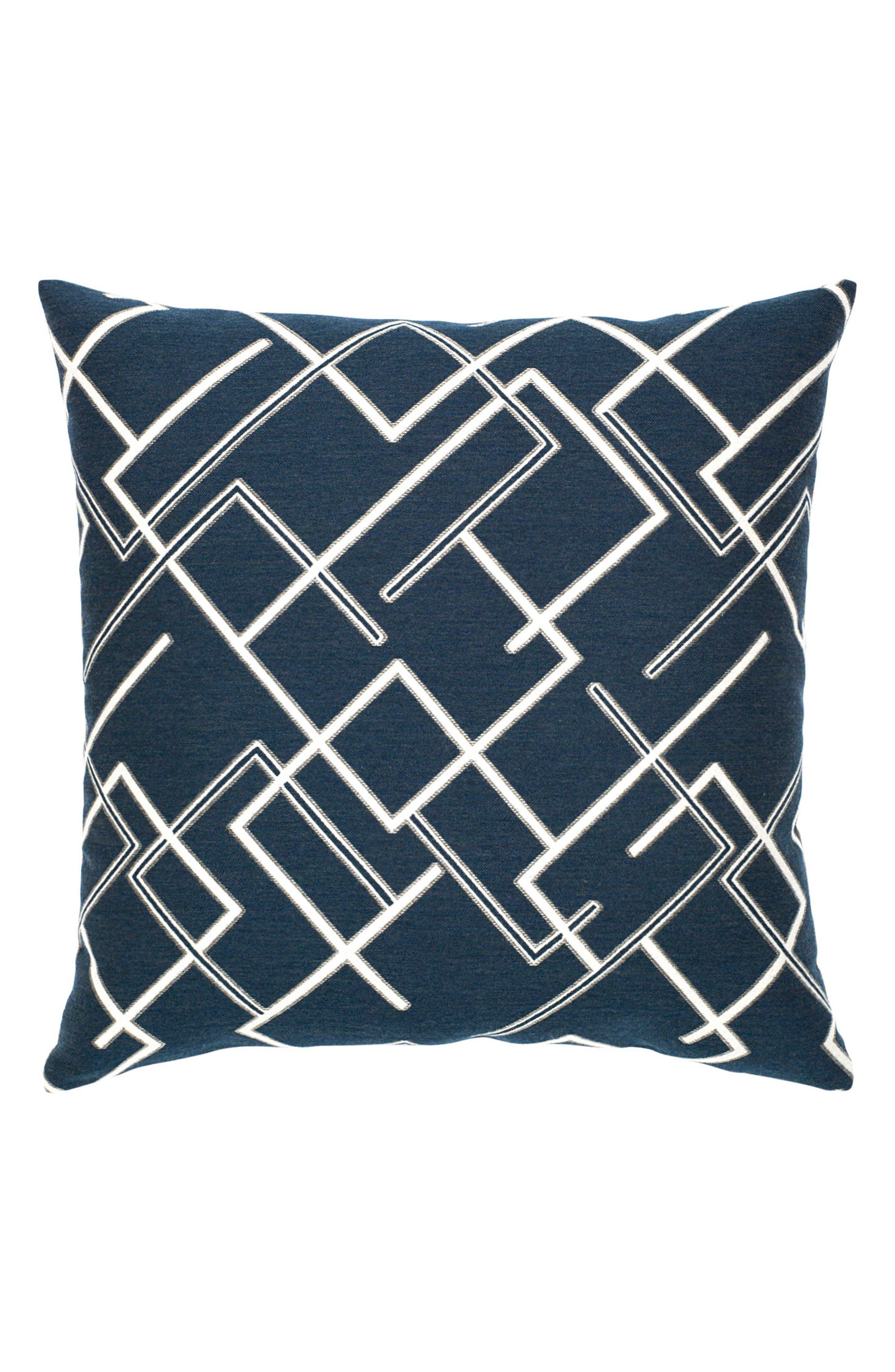 Divergence Indigo Indoor/Outdoor Accent Pillow,                             Main thumbnail 1, color,                             400