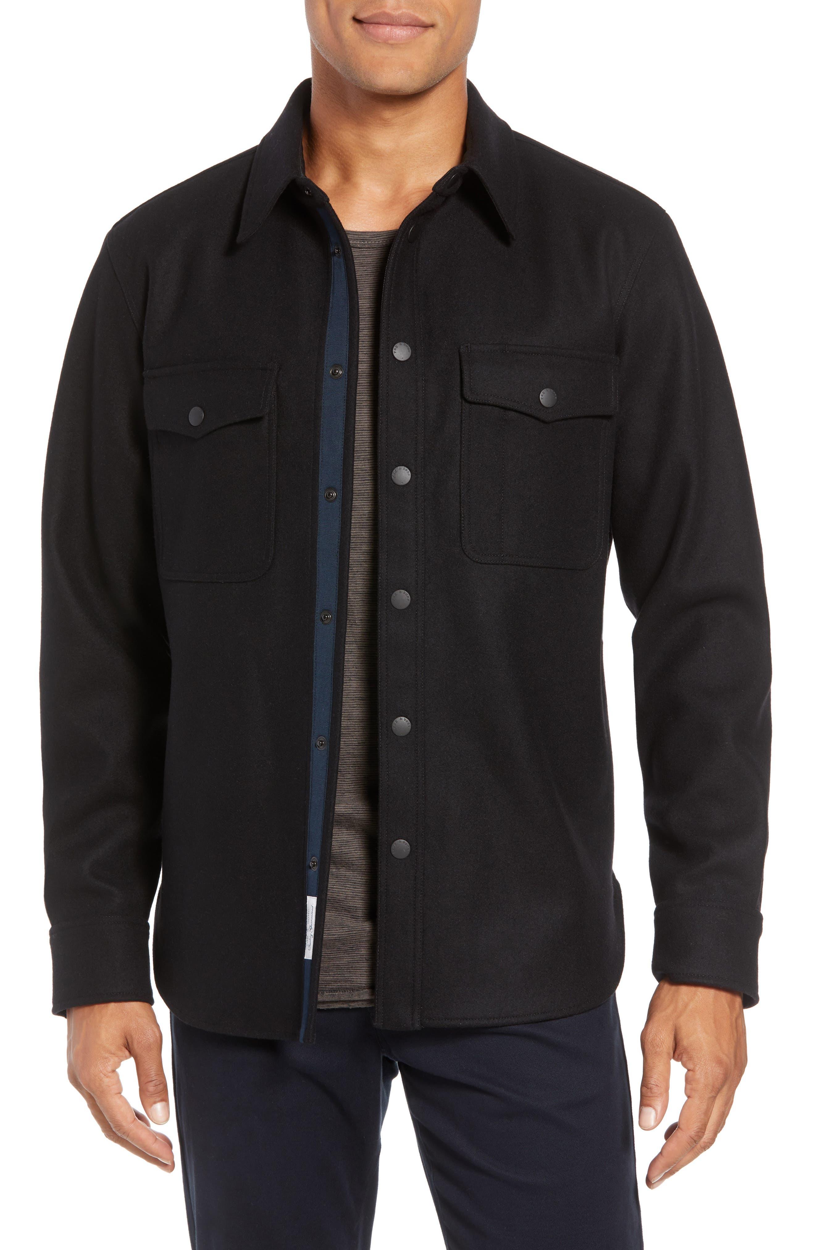 Jack Regular Fit Shirt Jacket, Main, color, 001