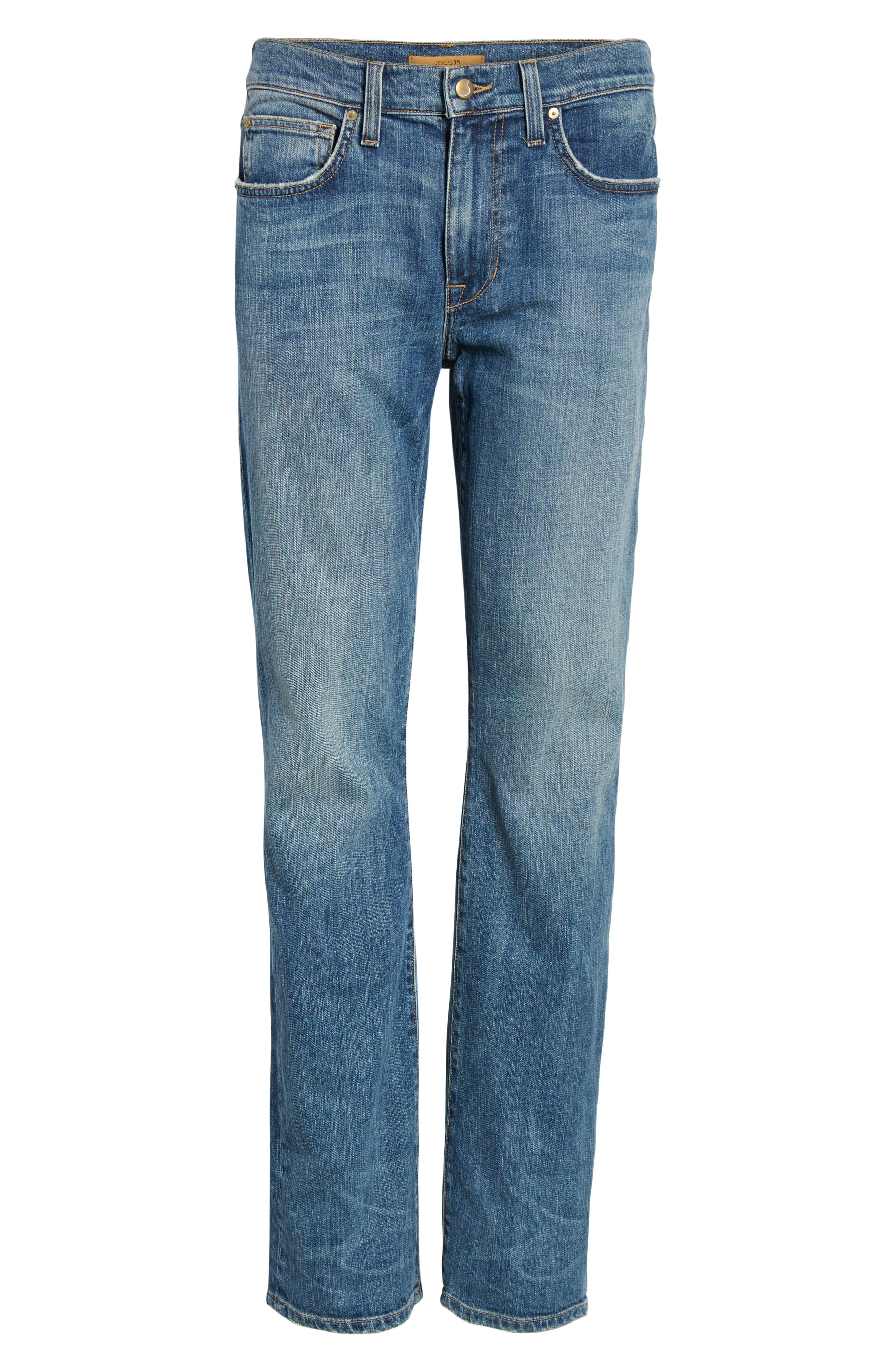 Brixton Slim Straight Fit Jeans,                             Alternate thumbnail 6, color,                             400