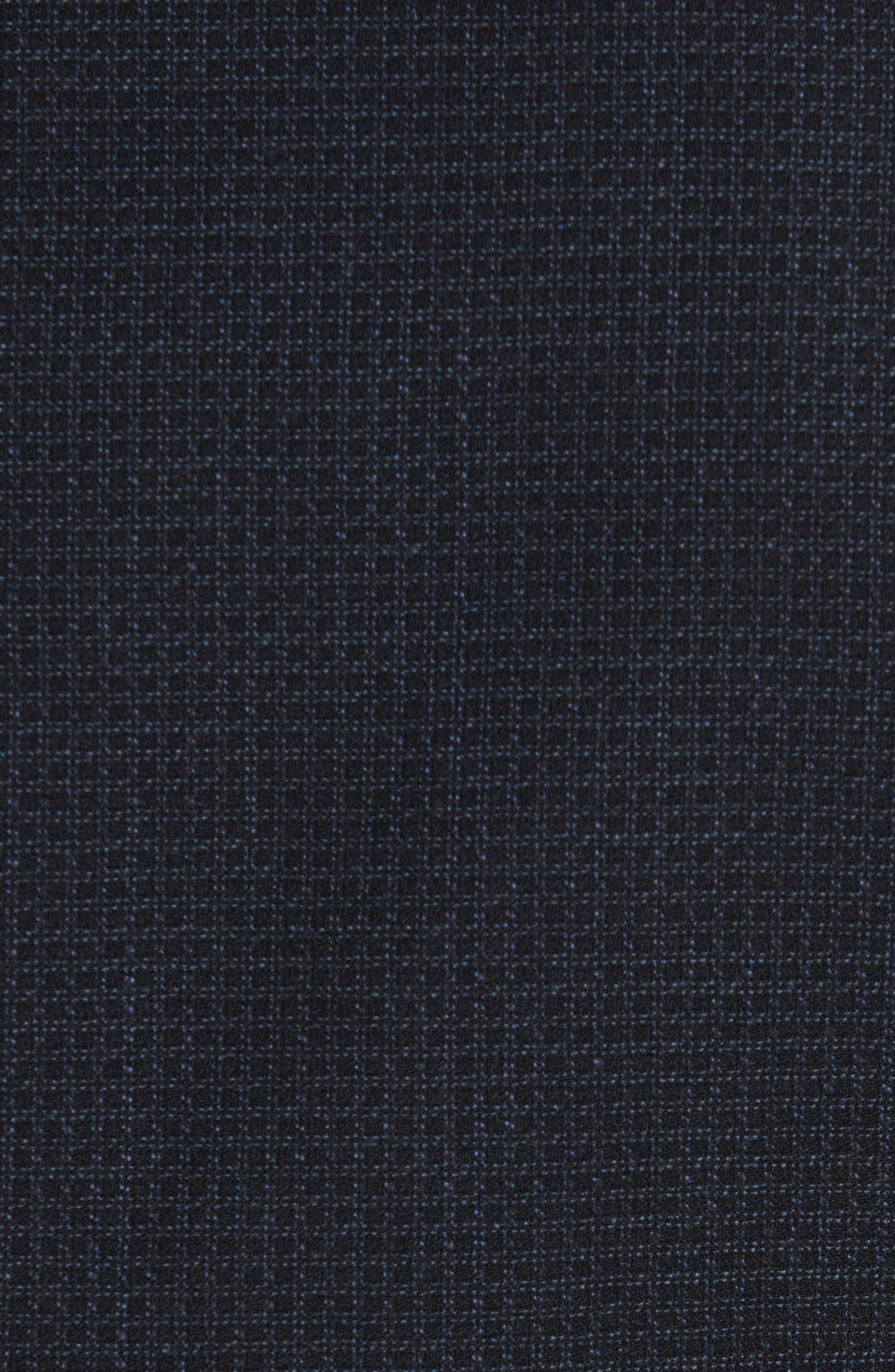 Trim Fit Check Wool Sport Coat,                             Alternate thumbnail 6, color,                             410