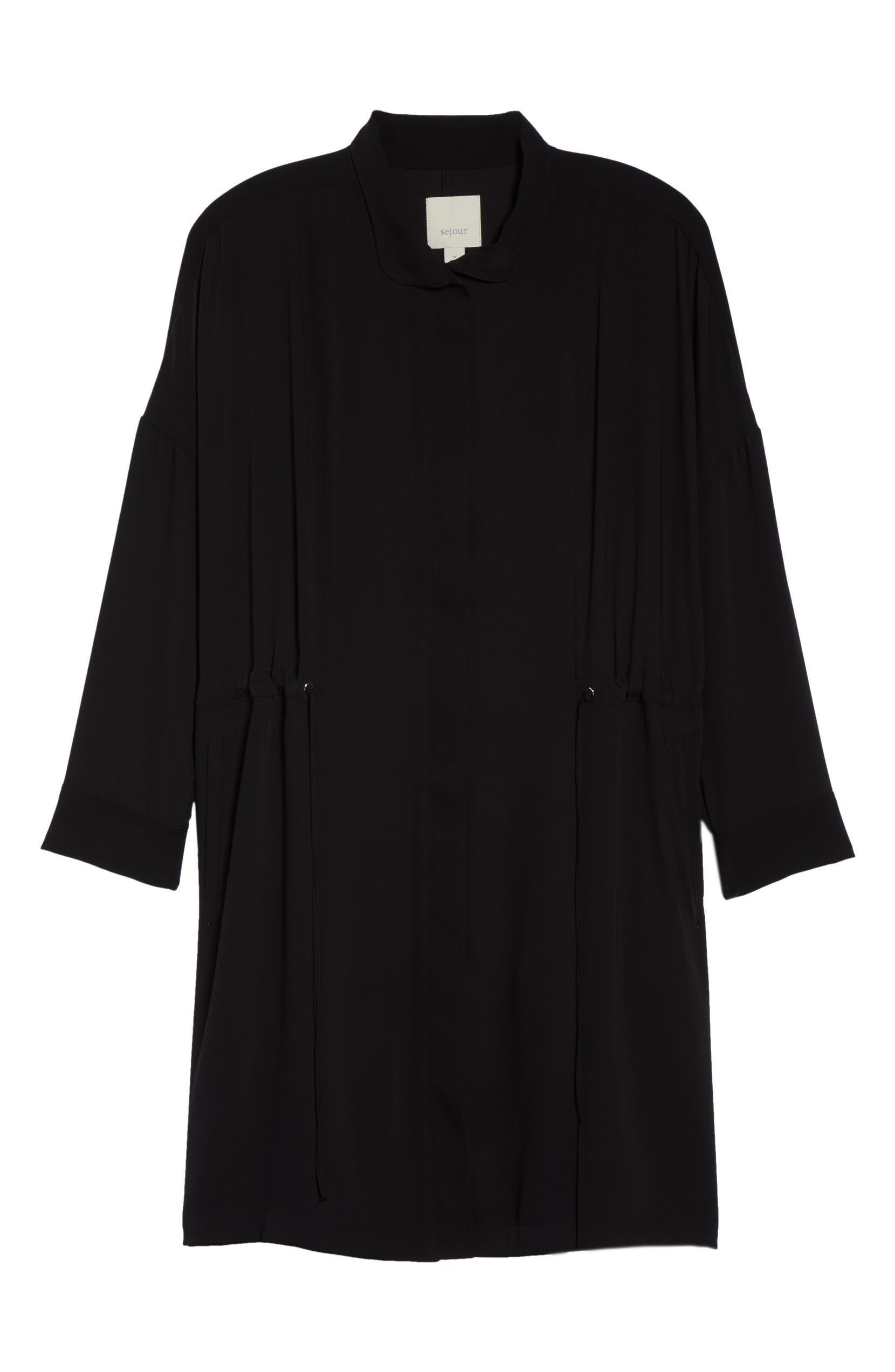790b426a44ec9 Sejour Dolman Sleeve Tie Waist Jacket (Plus Size)