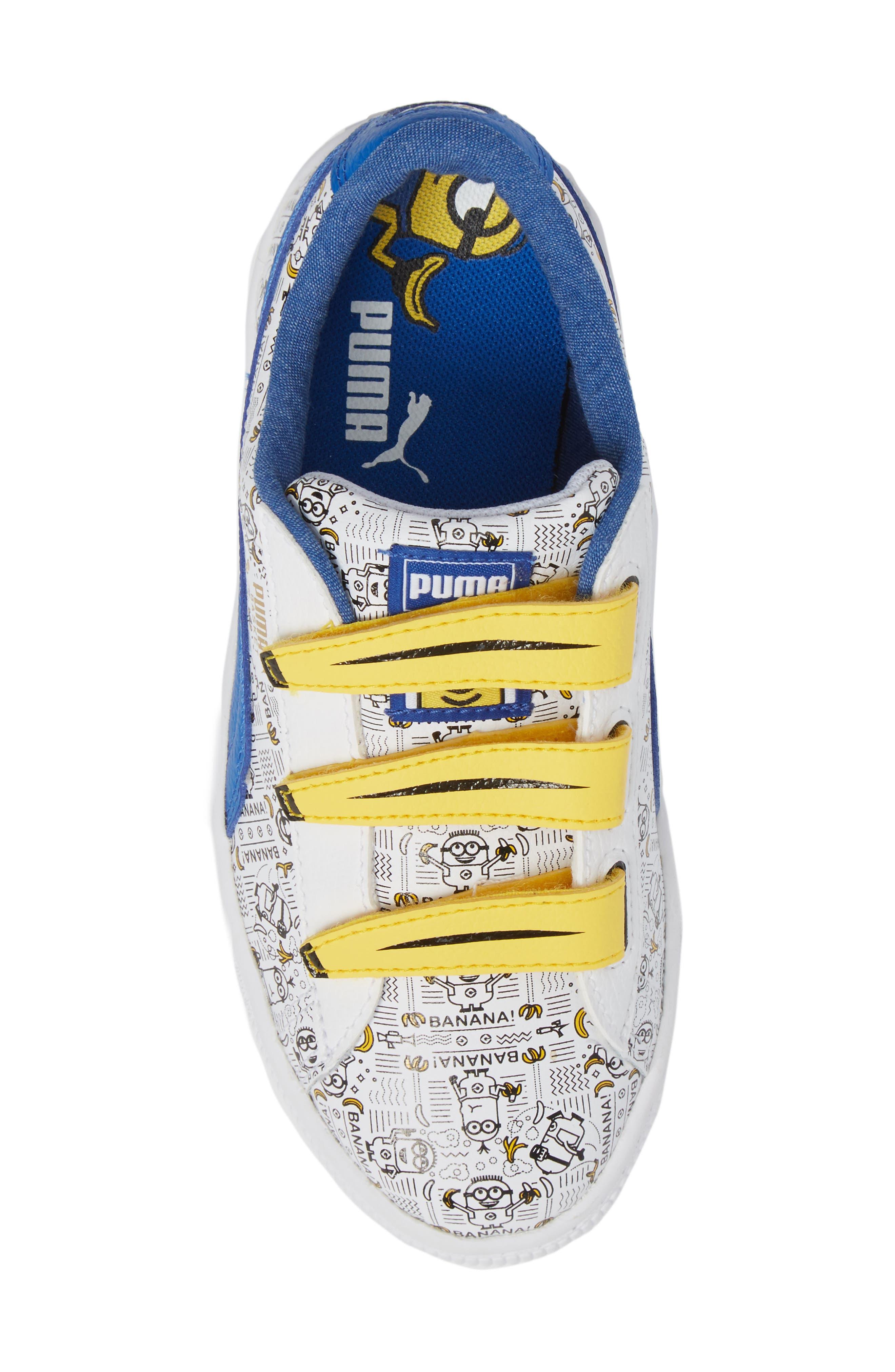 Minions Basket V Sneaker,                             Alternate thumbnail 5, color,                             100