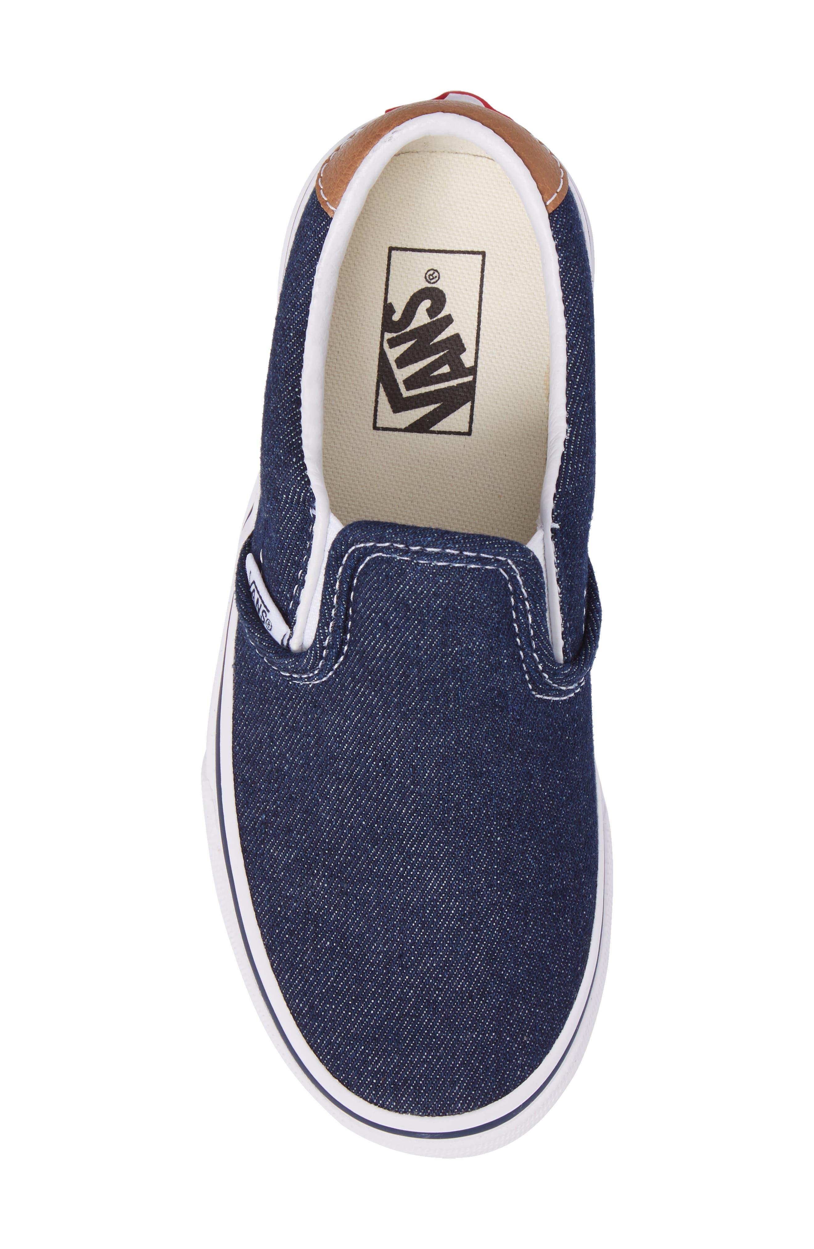 Denim C&L Slip-On 59 Sneaker,                             Alternate thumbnail 5, color,                             420