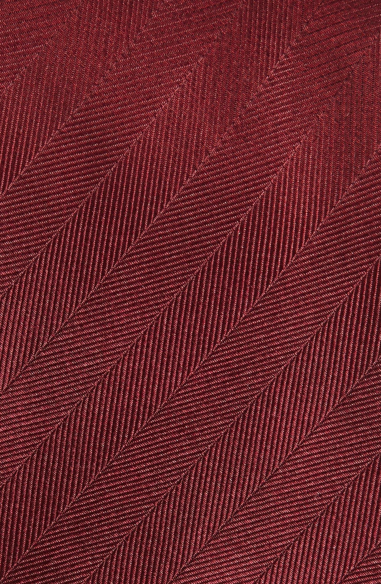 Herringbone Silk Tie,                             Alternate thumbnail 16, color,