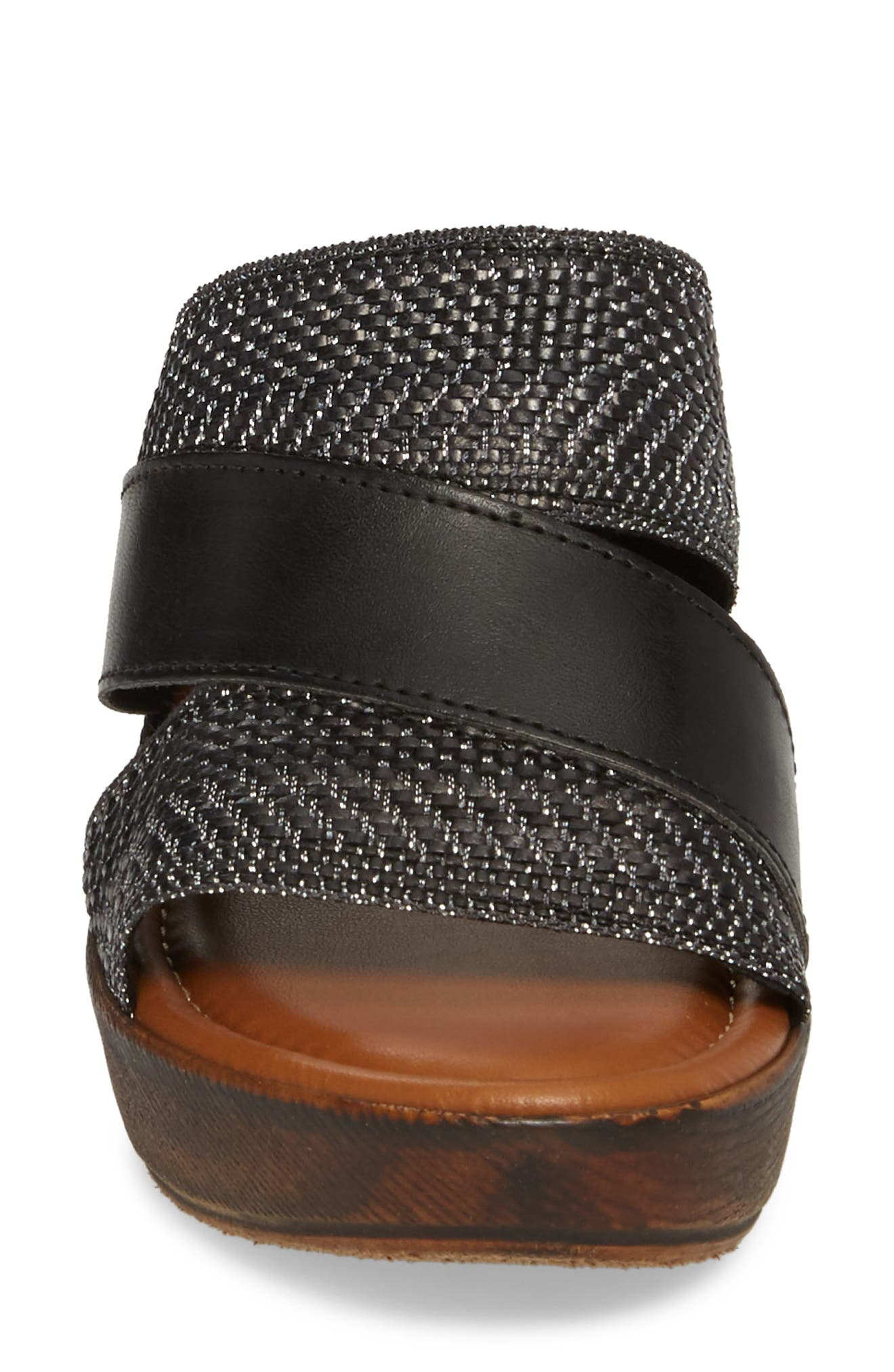 by Easy Street<sup>®</sup> Positano Sandal,                             Alternate thumbnail 4, color,                             001