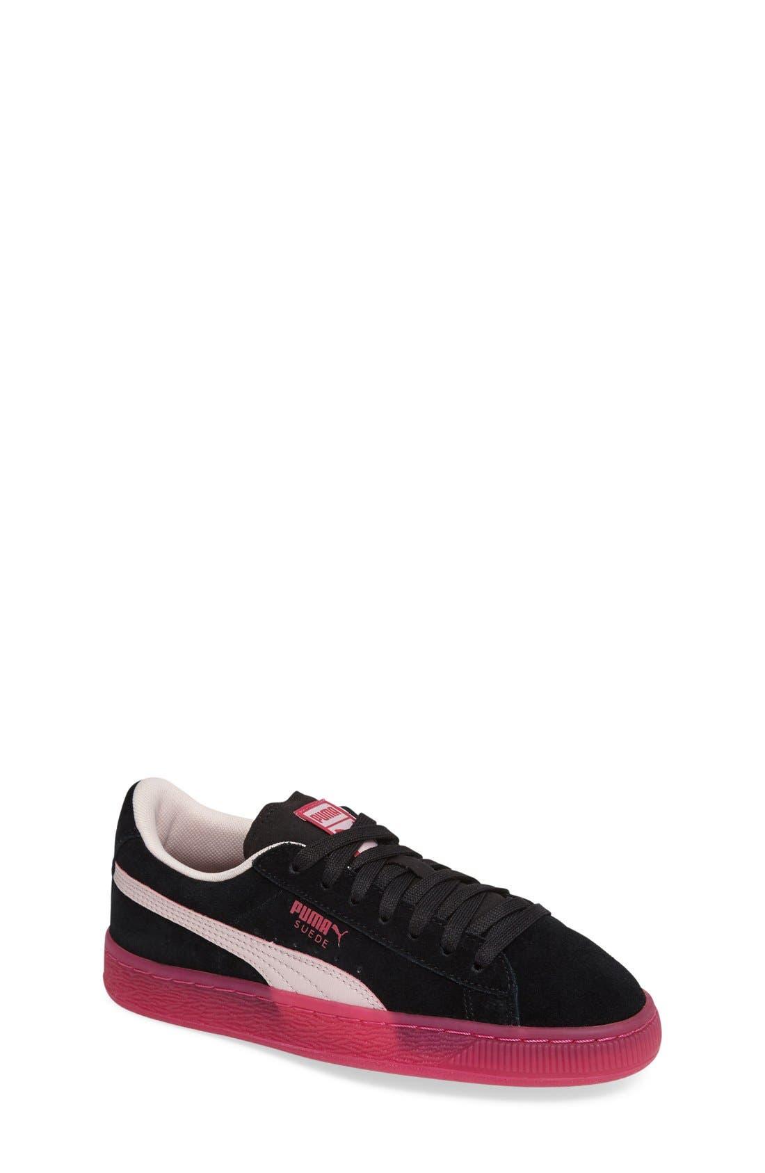 LFS Iced Jr Sneaker,                             Main thumbnail 1, color,                             001