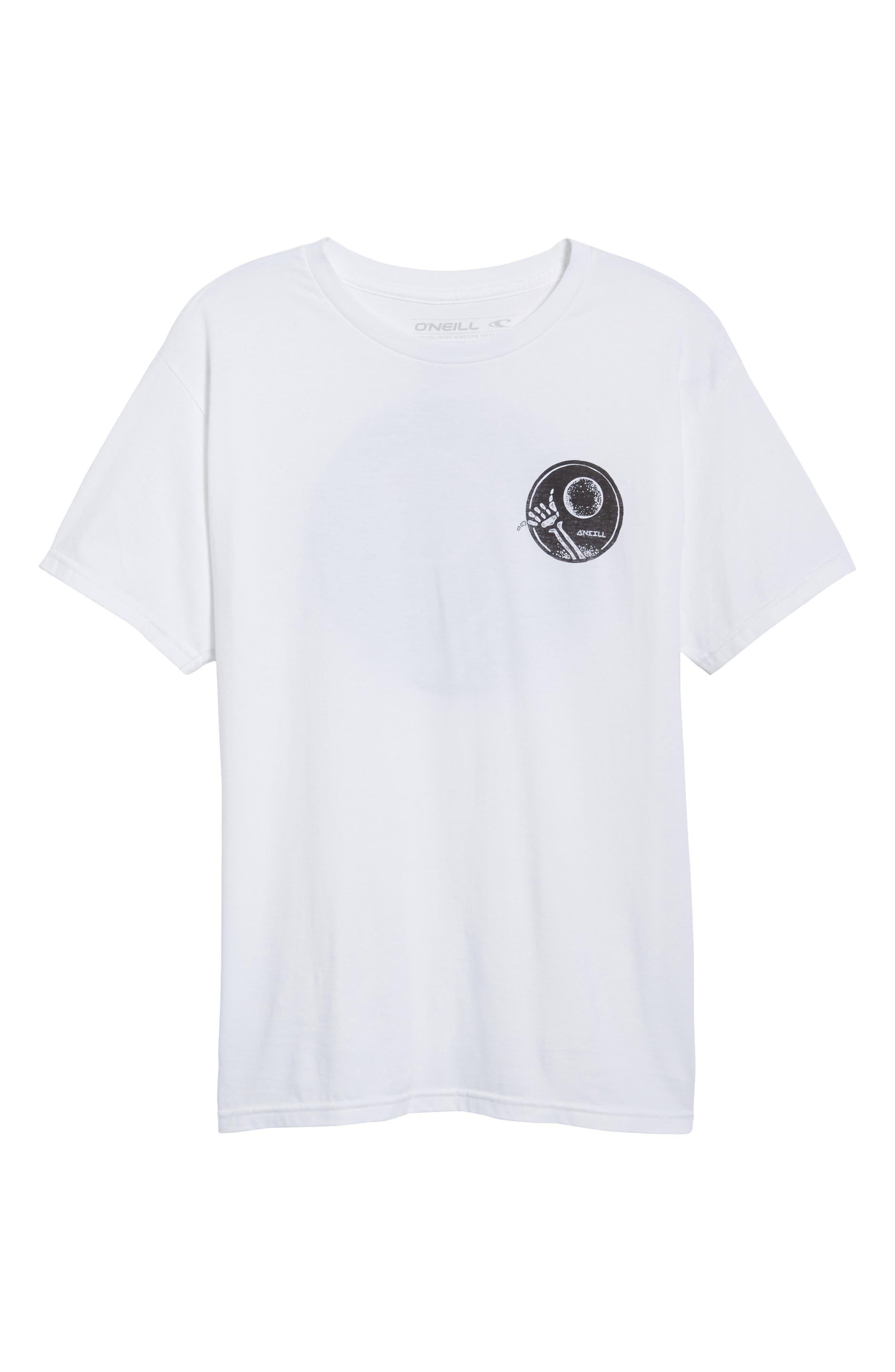 Night Shredder Graphic T-Shirt,                             Alternate thumbnail 6, color,                             100