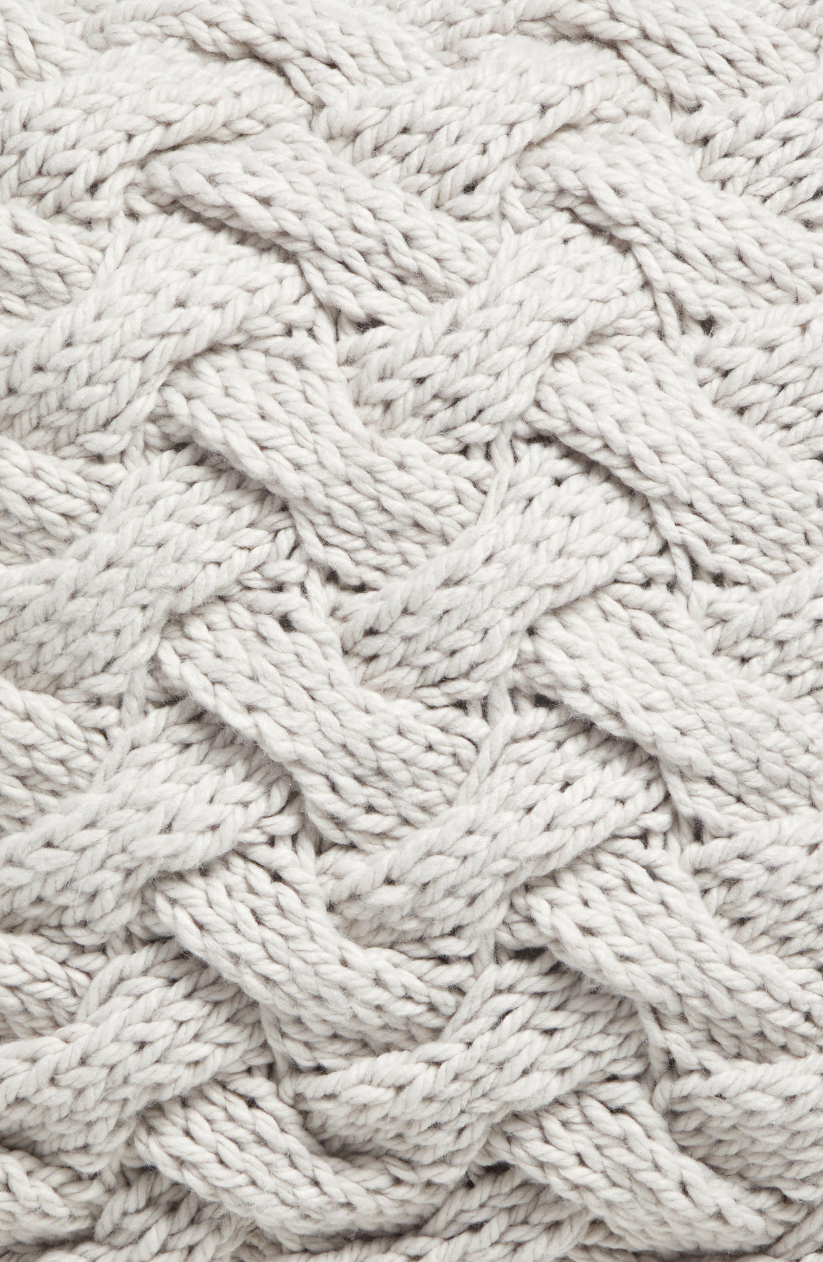 Basket Weave Accent Pillow,                             Alternate thumbnail 3, color,                             020