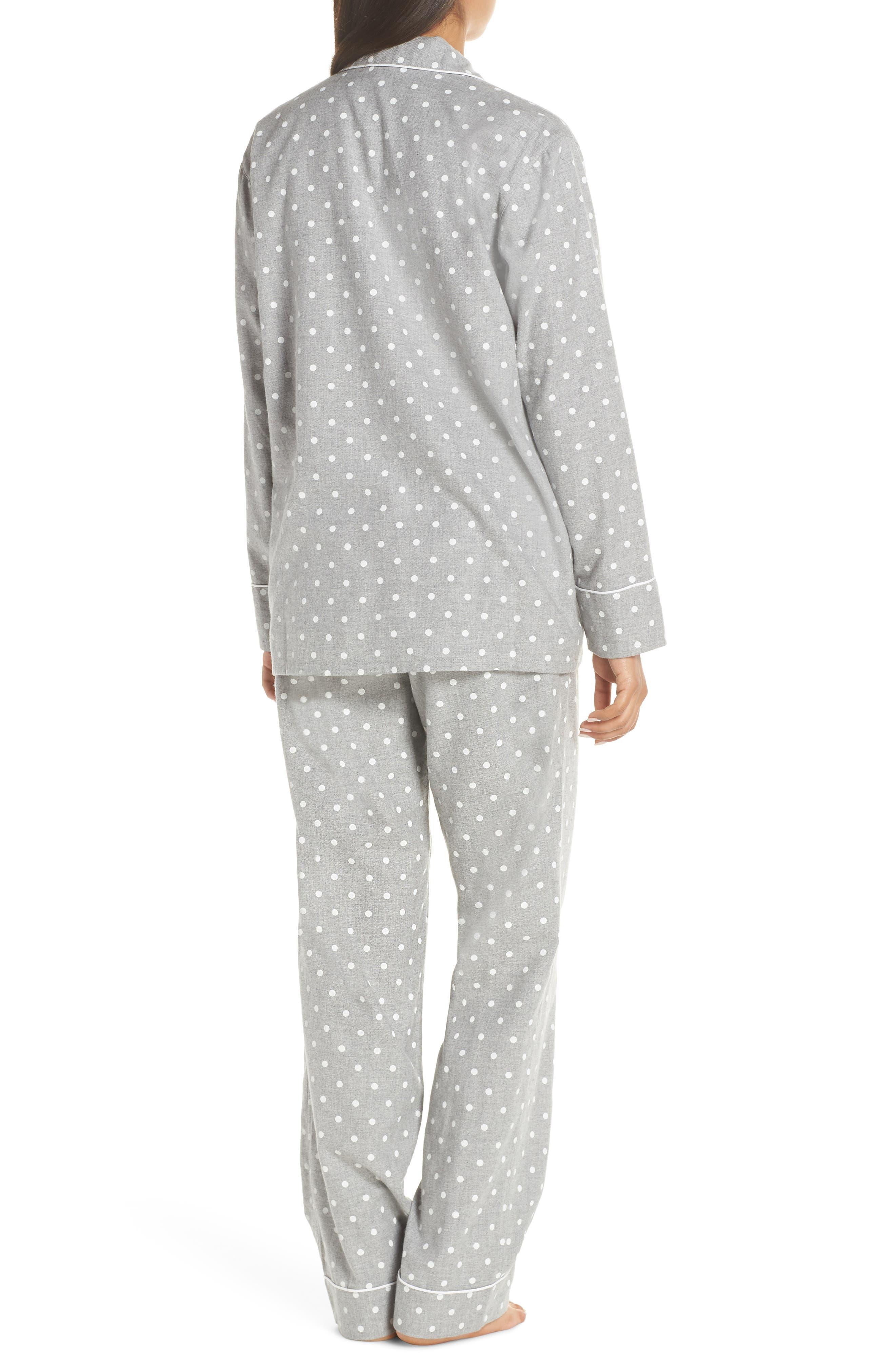 Flannel Pajamas,                             Alternate thumbnail 2, color,                             023