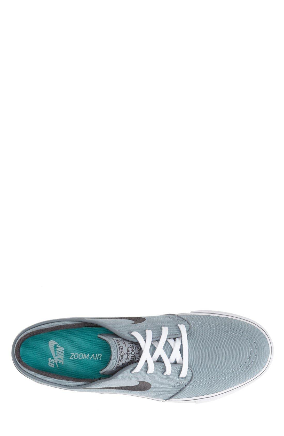 Zoom - Stefan Janoski SB Canvas Skate Shoe,                             Alternate thumbnail 106, color,