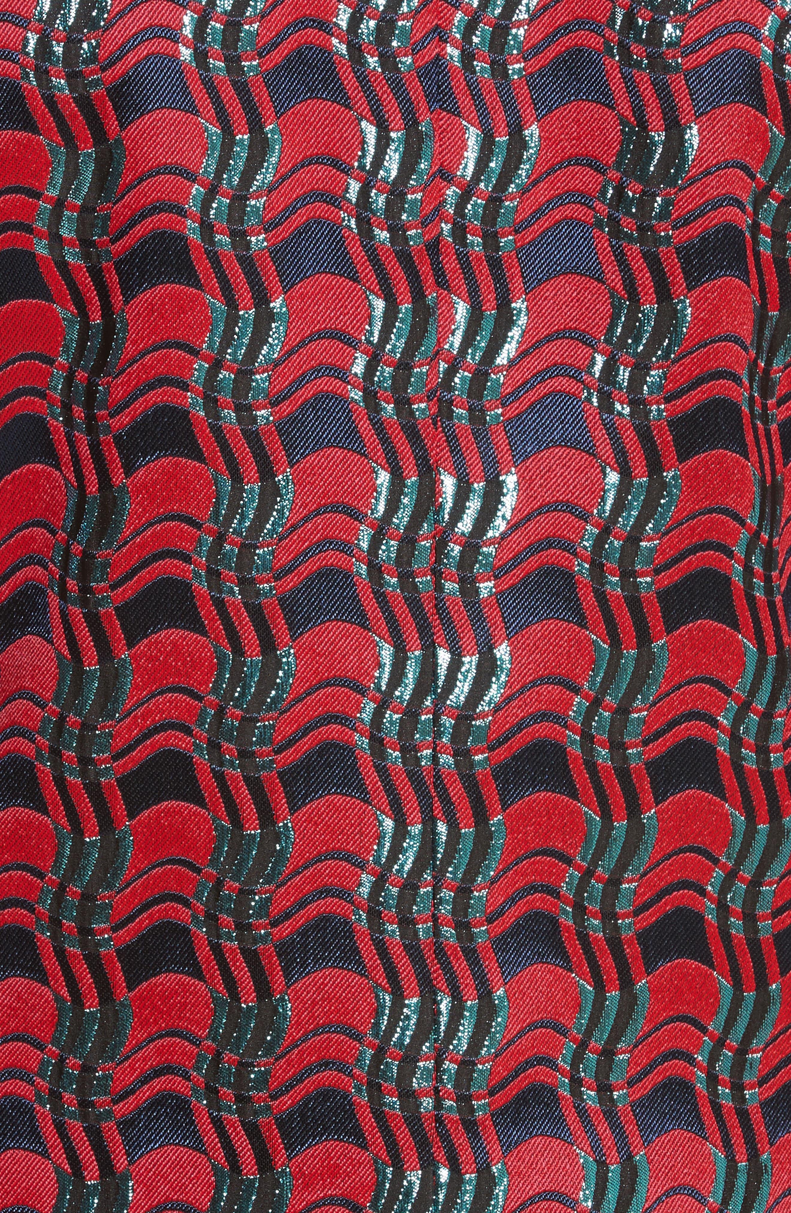 Tailored Jacquard Jacket,                             Alternate thumbnail 5, color,                             601