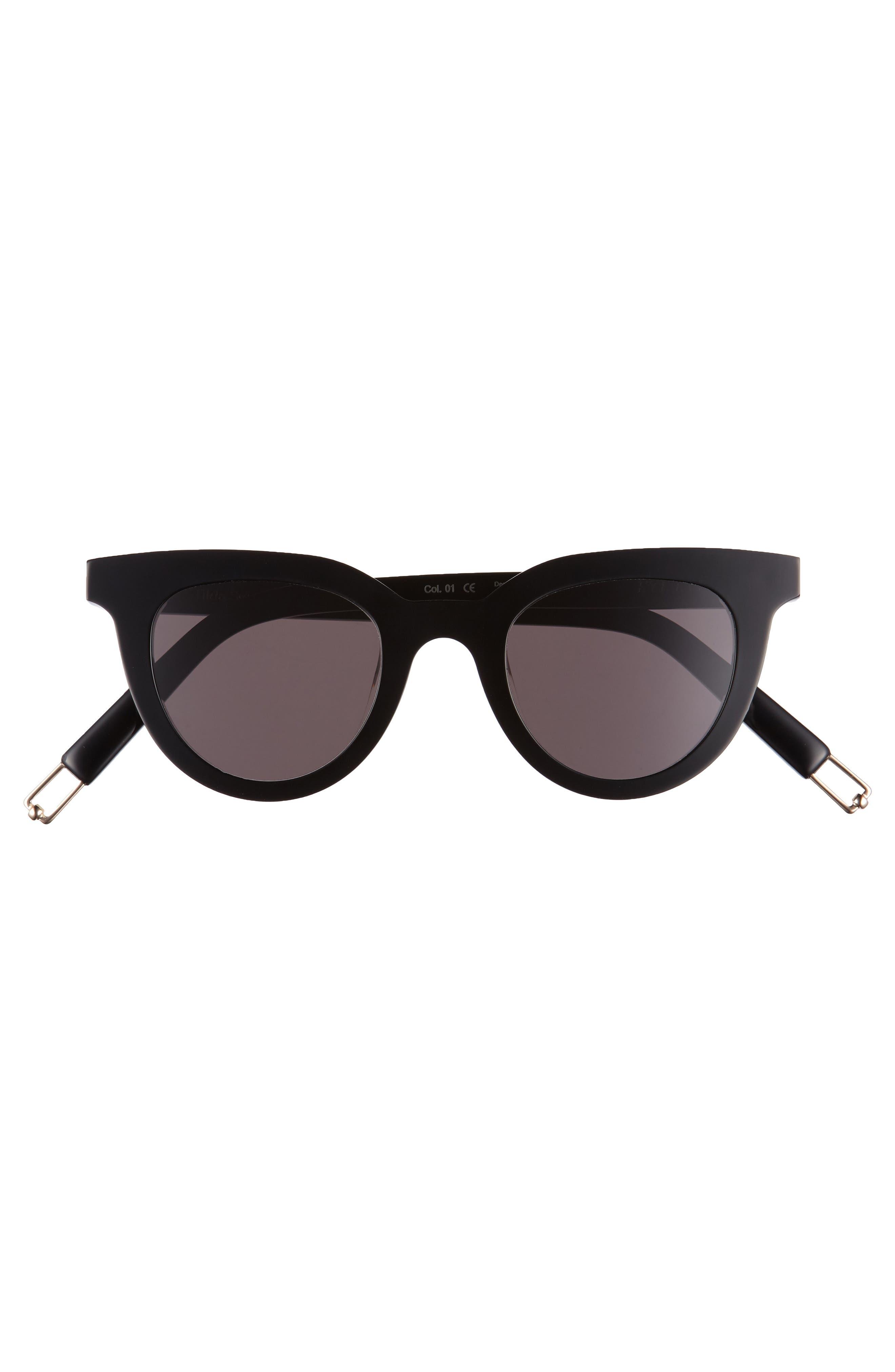 GENTLE MONSTER,                             Eye Eye 45mm Cat Eye Sunglasses,                             Alternate thumbnail 3, color,                             001