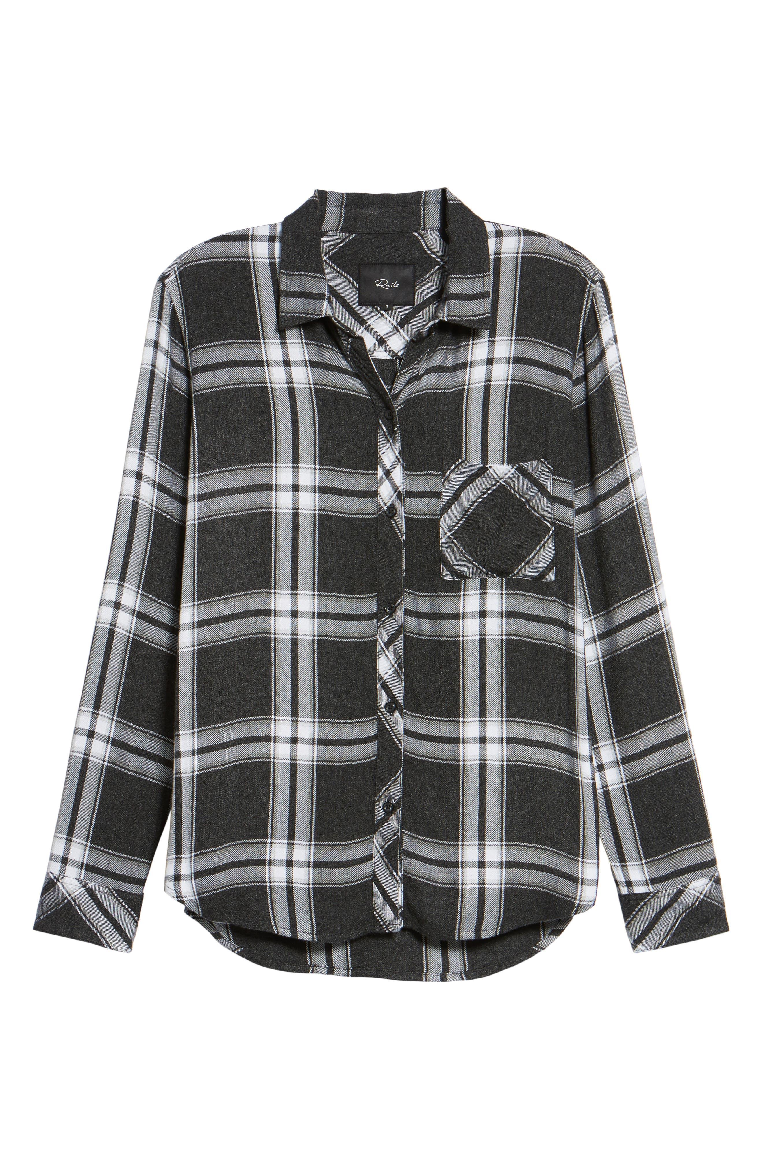 Hunter Plaid Shirt,                             Alternate thumbnail 699, color,