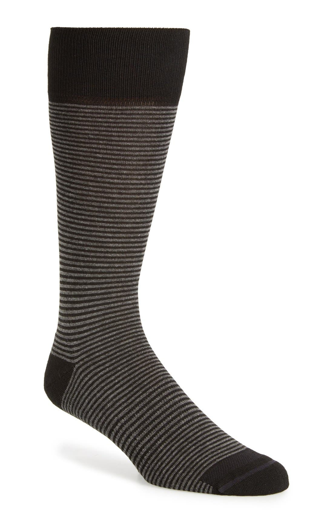 Feeder Stripe Socks,                             Main thumbnail 2, color,