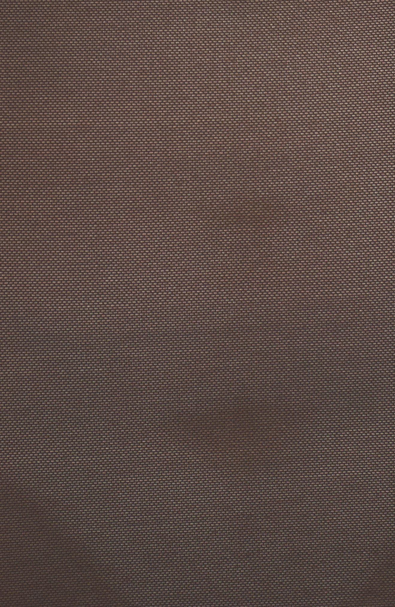 Seductive Silhouette Convertible Strapless Slip,                             Alternate thumbnail 6, color,                             BLACK