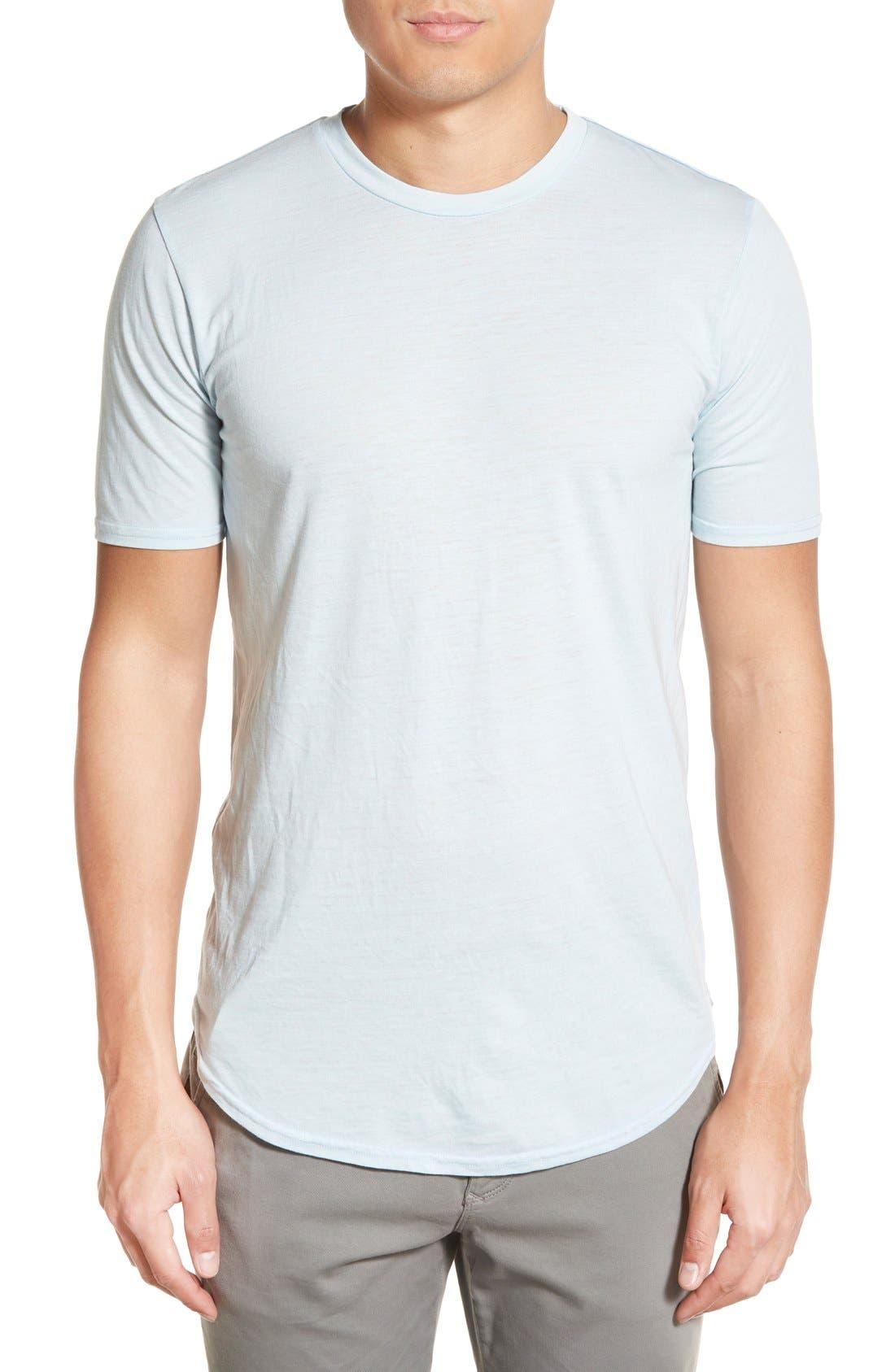 Scallop Triblend Crewneck T-Shirt,                             Main thumbnail 20, color,
