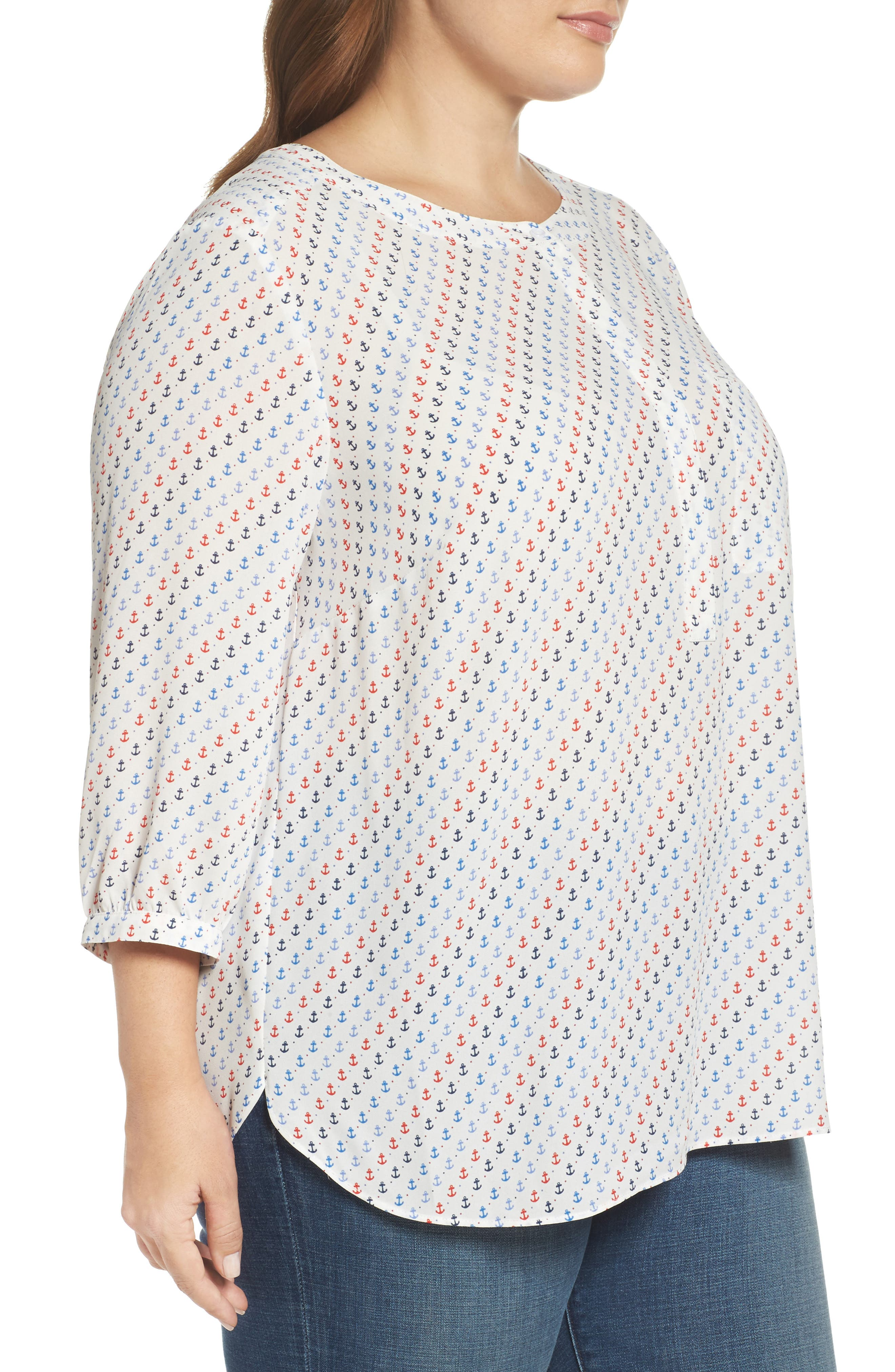 Henley Top,                             Alternate thumbnail 307, color,