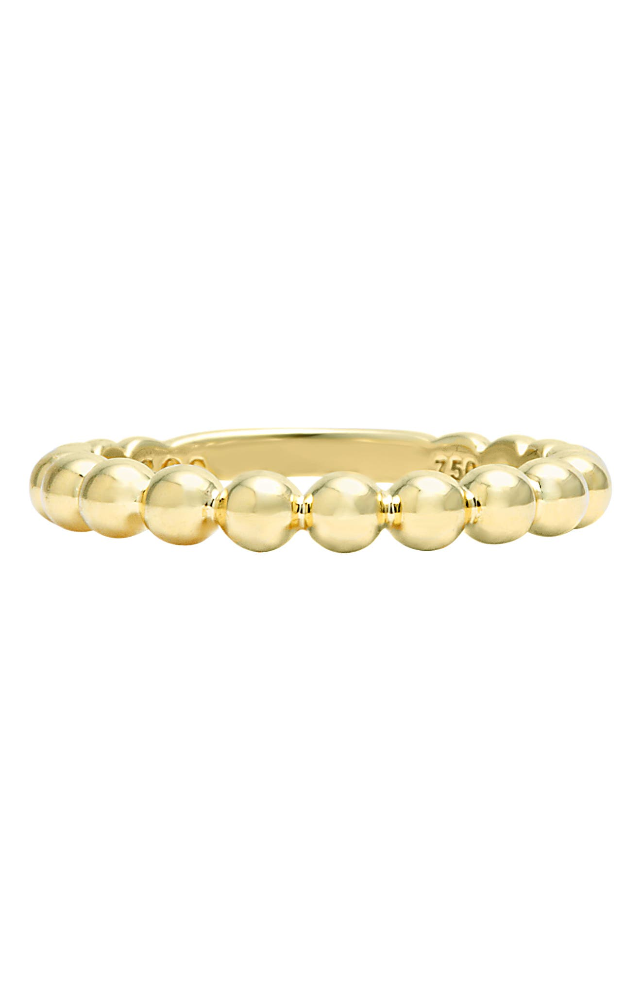 Caviar Stack Ring,                             Alternate thumbnail 5, color,                             GOLD