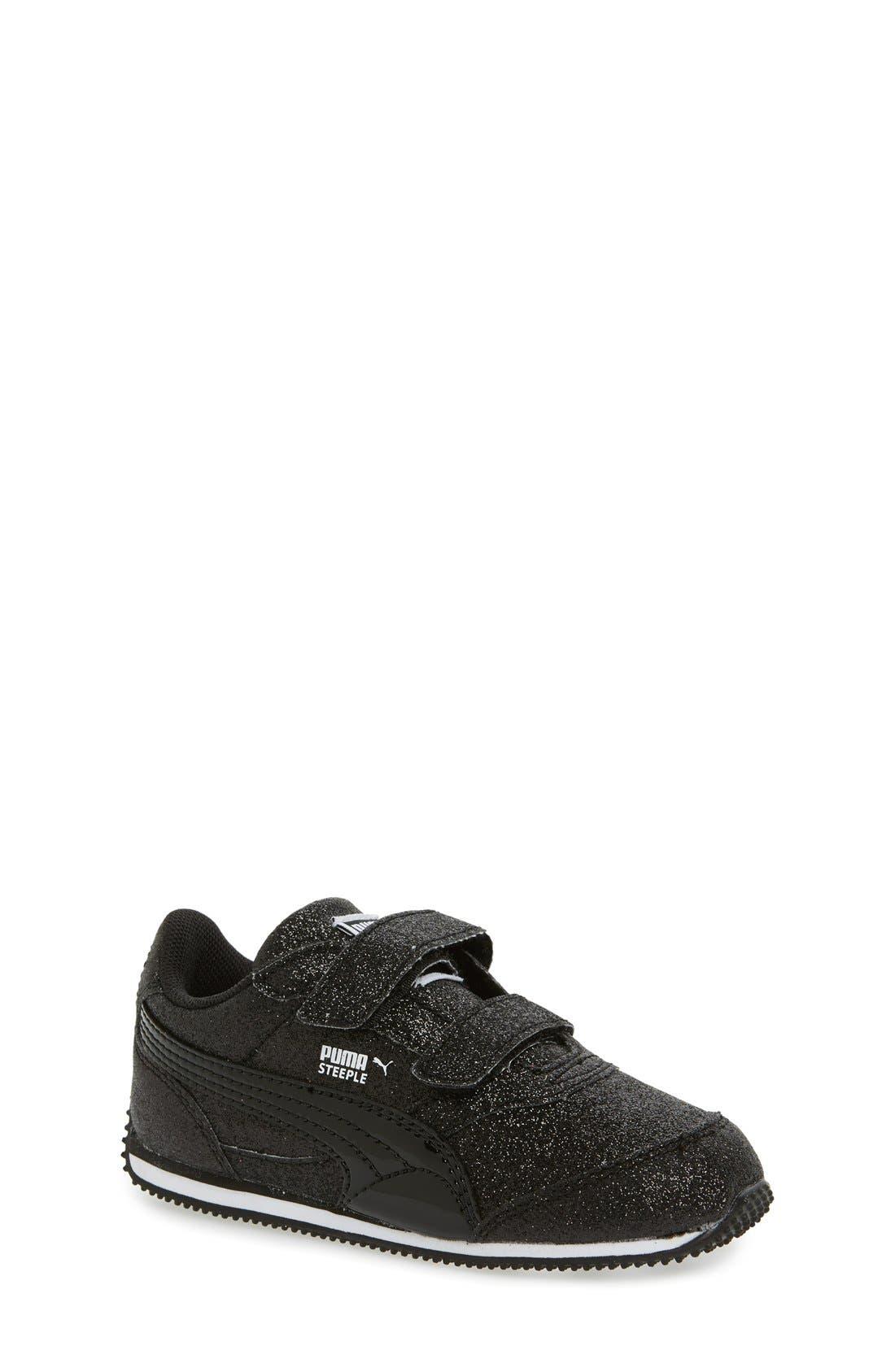 'Steeple Glitz' Sneaker,                             Main thumbnail 1, color,                             001