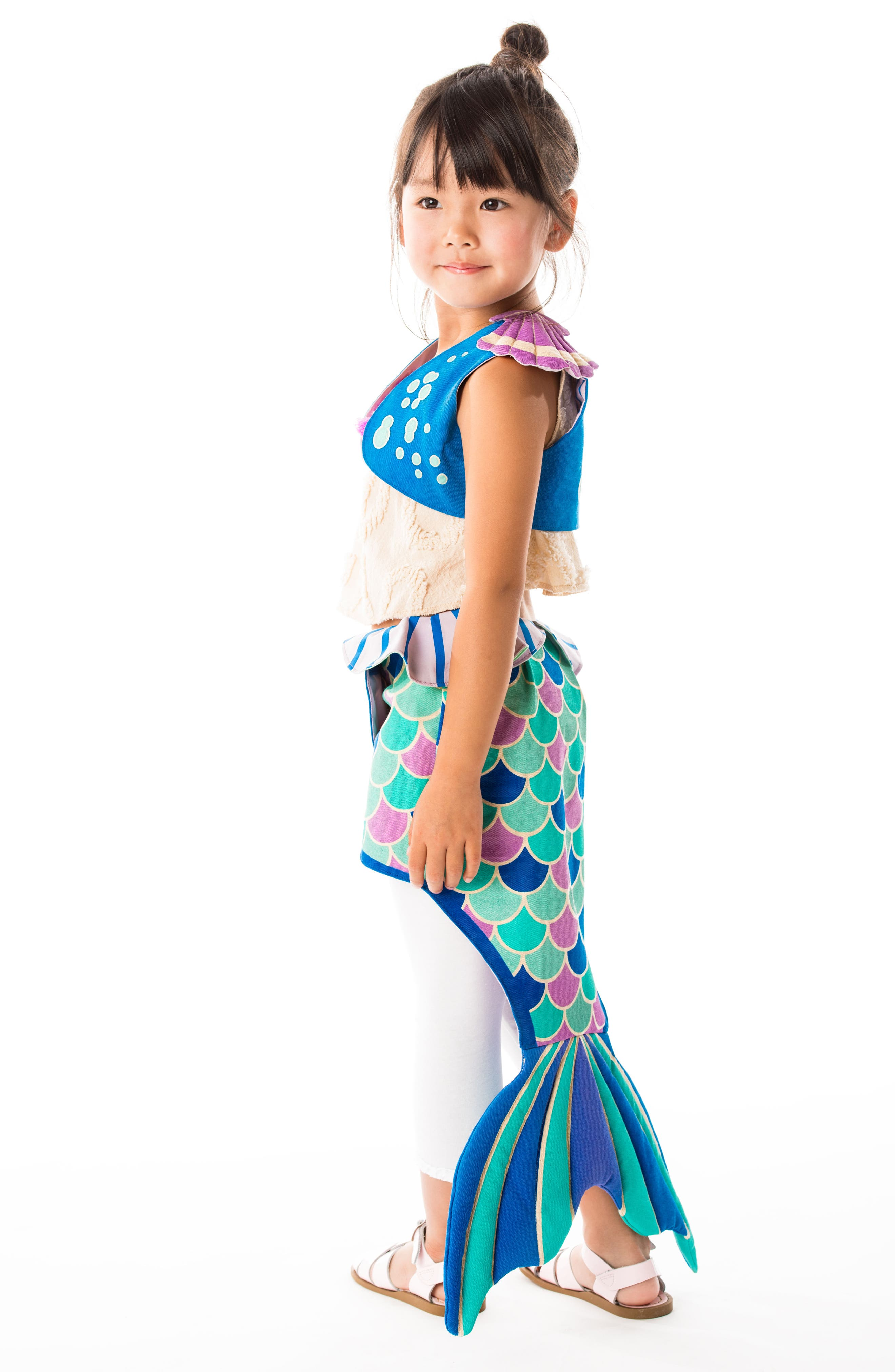 LOVELANE,                             Mermaid Costume Set,                             Alternate thumbnail 5, color,                             400